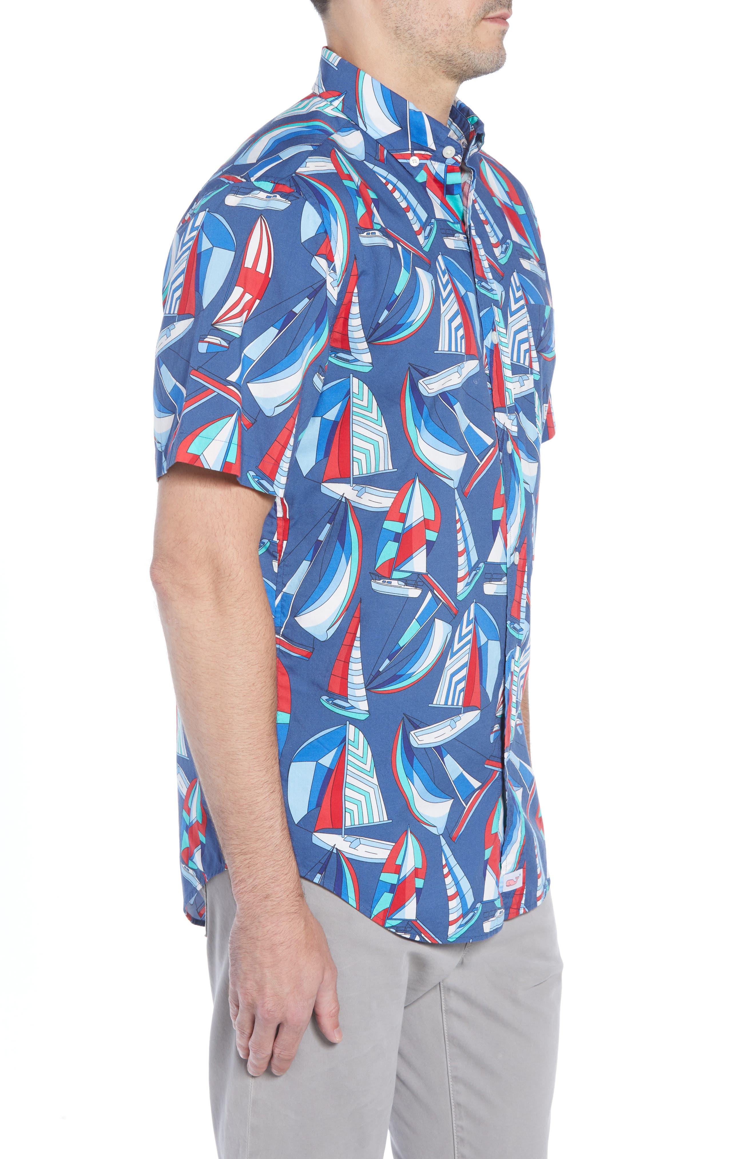 Murray Classic Fit Sport Shirt,                             Alternate thumbnail 4, color,                             461