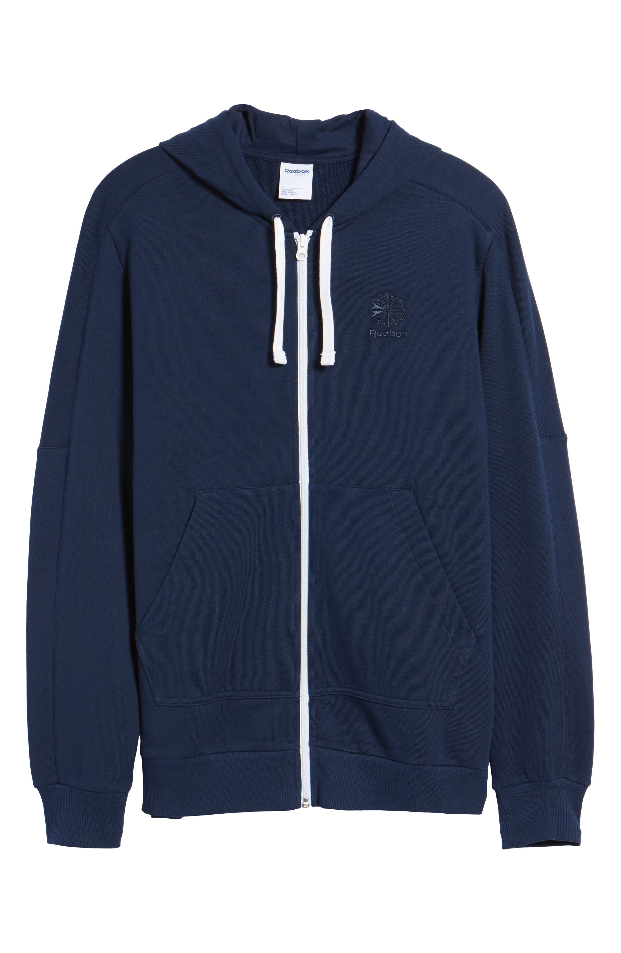 Classic Graphic Zip Hoodie,                             Alternate thumbnail 12, color,