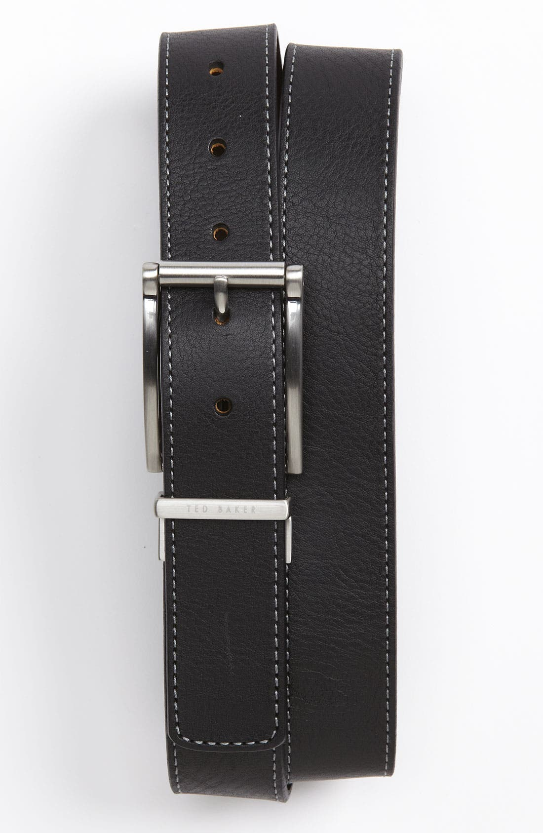 TED BAKER LONDON Reversible Belt, Main, color, 001