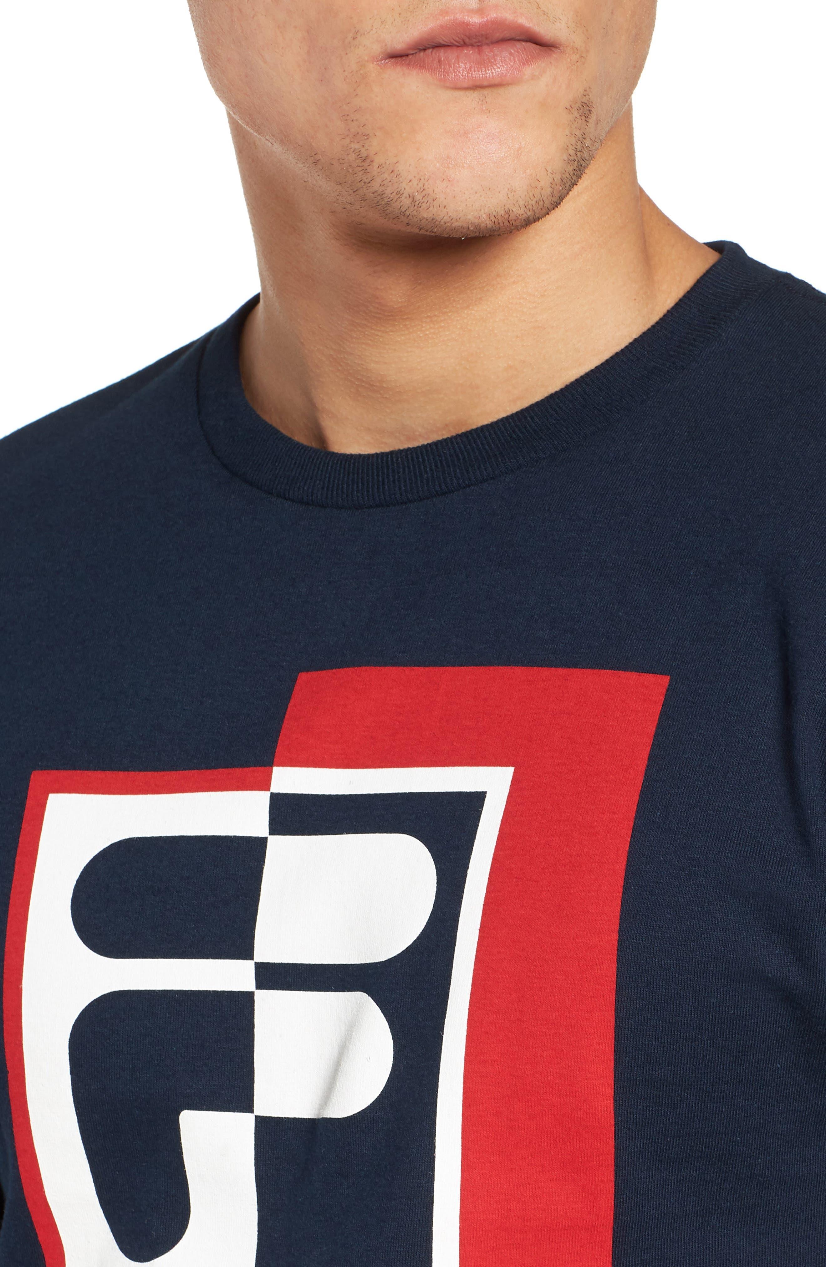 Rexton Graphic T-Shirt,                             Alternate thumbnail 4, color,                             410