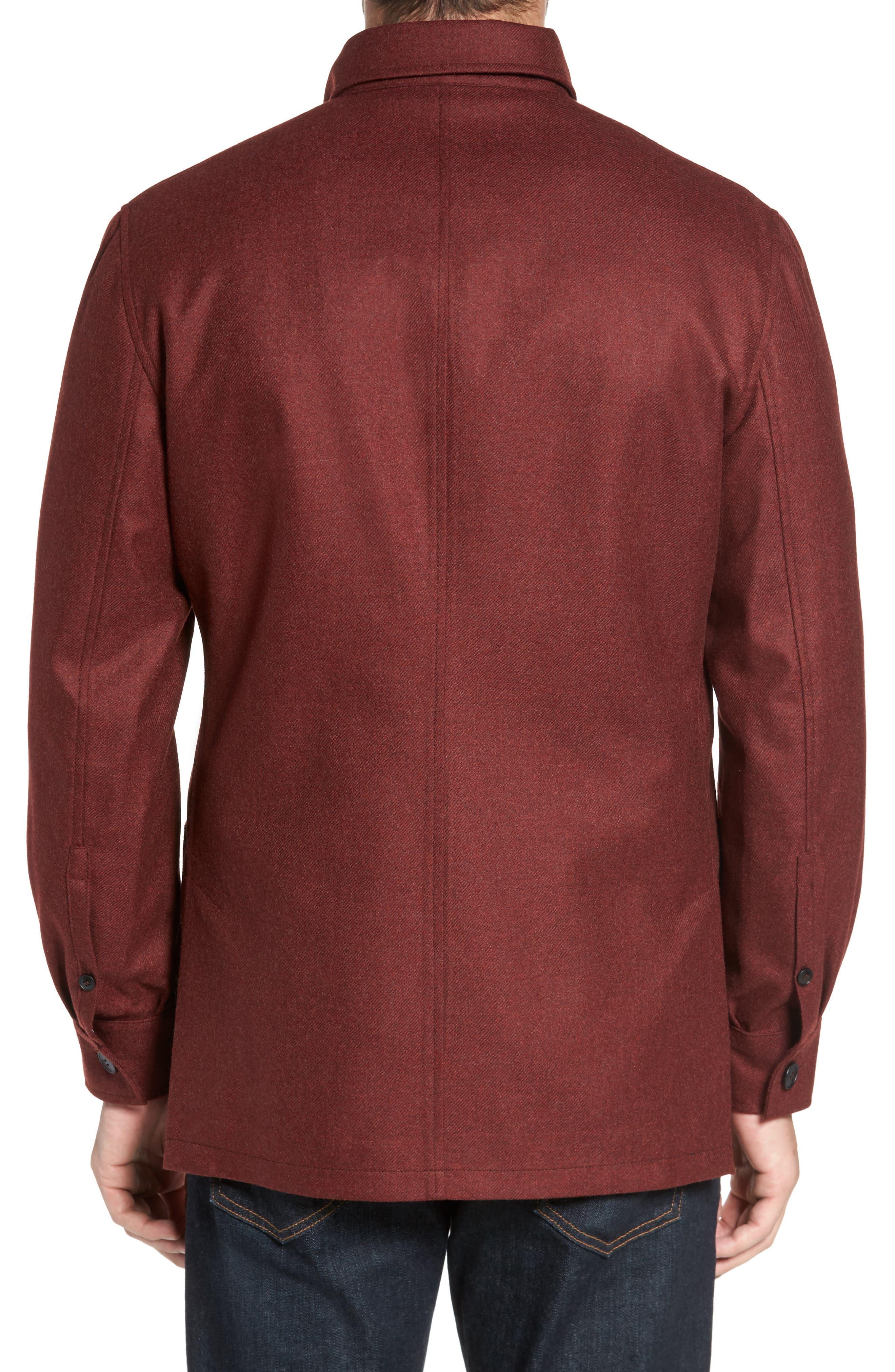 Loro Piana Storm System Shirt Jacket,                             Alternate thumbnail 10, color,