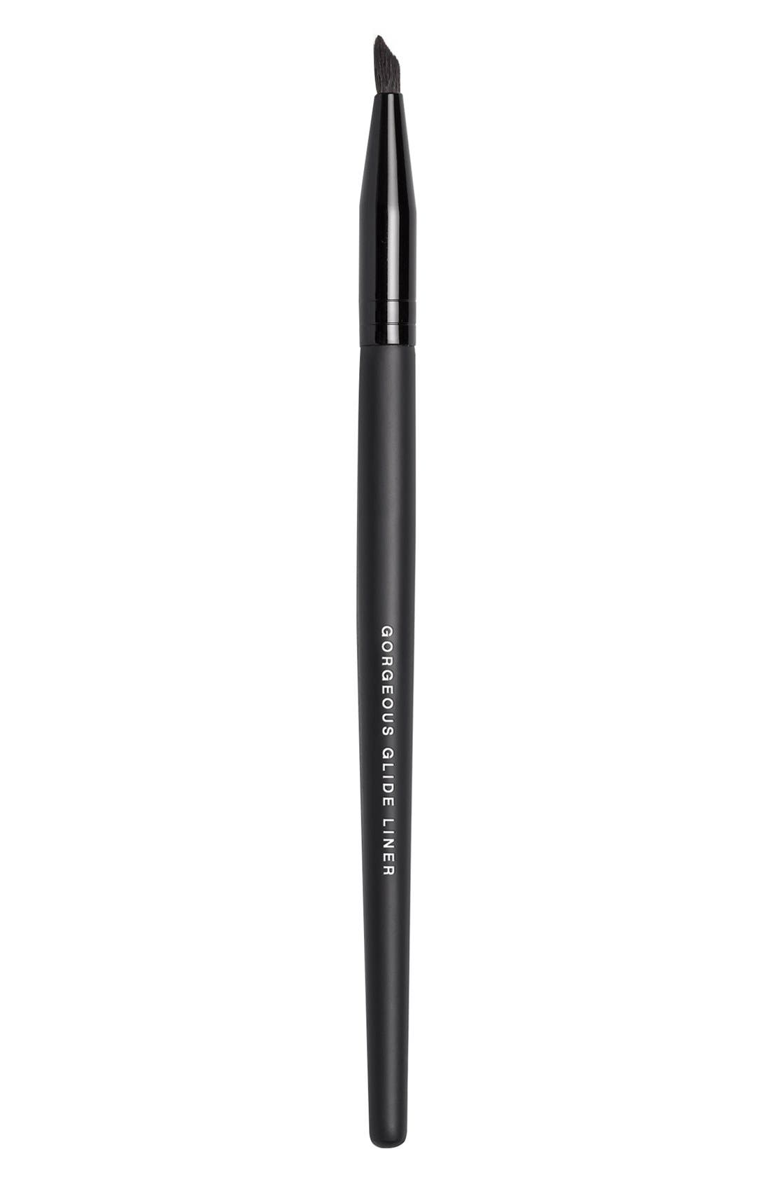 Gorgeous Glide Liner Brush,                             Main thumbnail 1, color,                             000