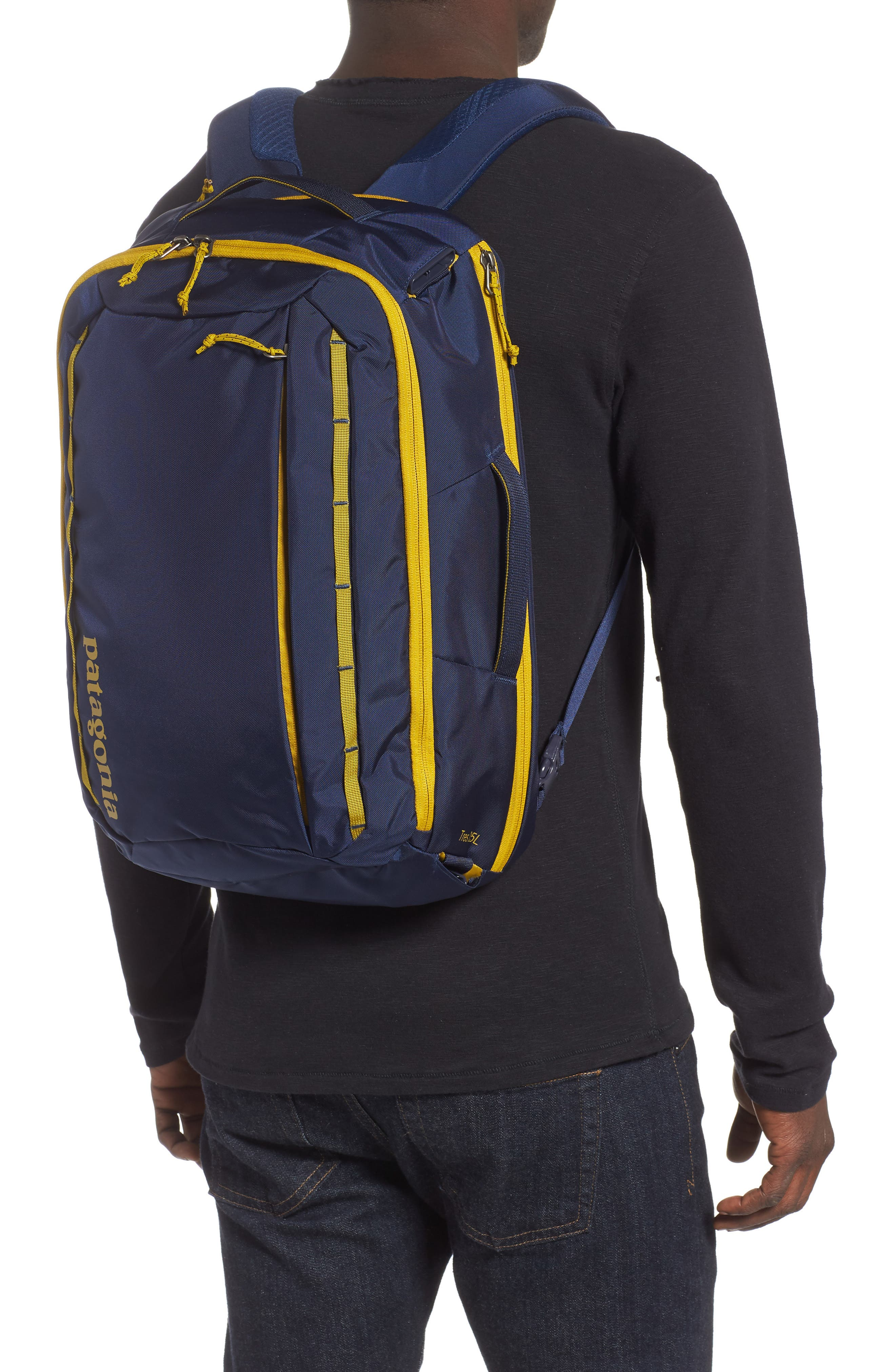 PATAGONIA,                             Tres 25-Liter Convertible Backpack,                             Alternate thumbnail 2, color,                             CLASSIC NAVY