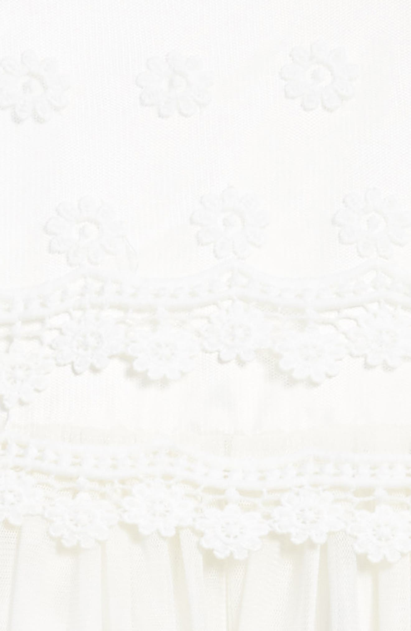 Daisy Tulle Dress,                             Alternate thumbnail 3, color,