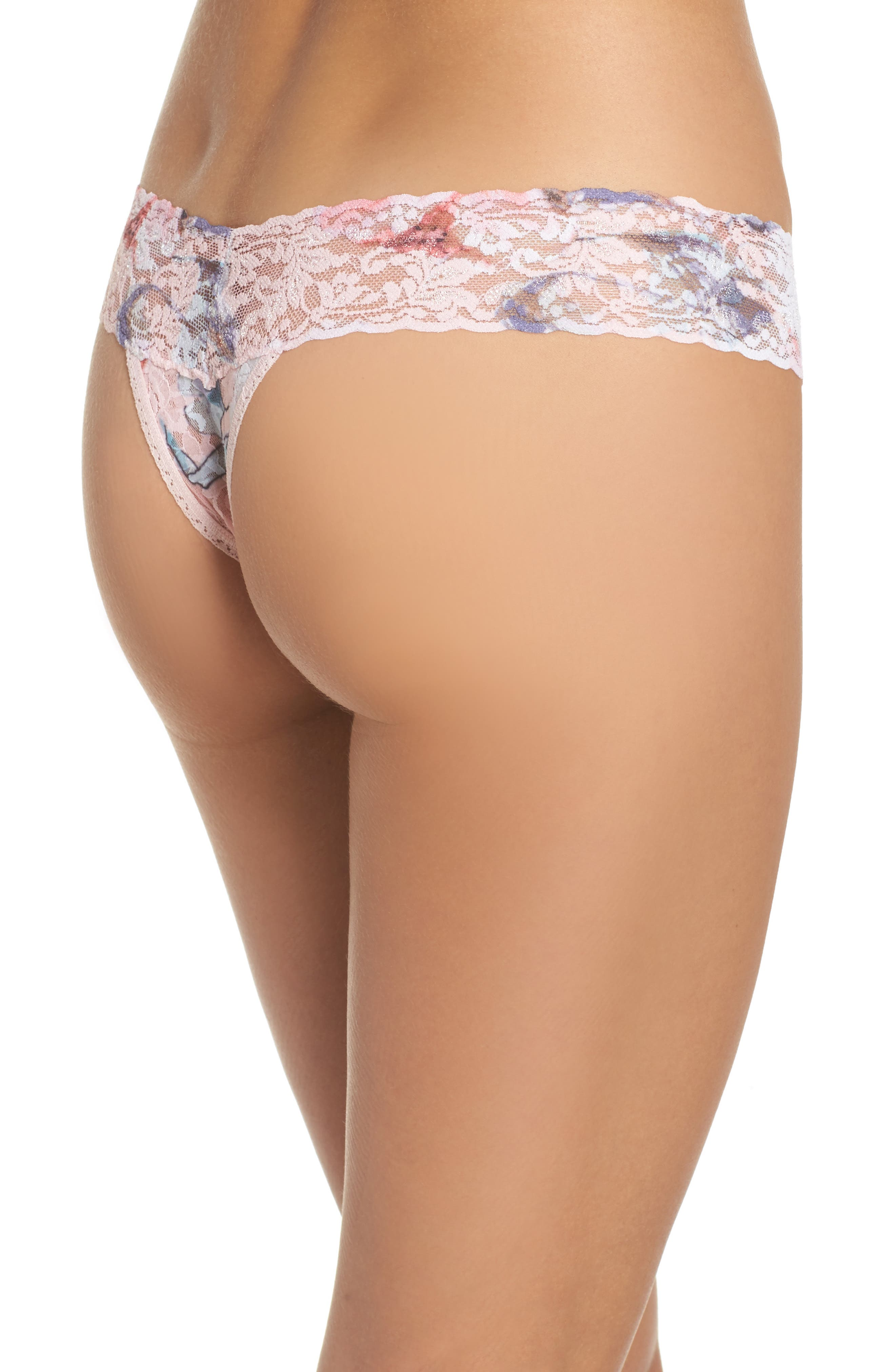 Print Low Rise Thong,                             Alternate thumbnail 31, color,