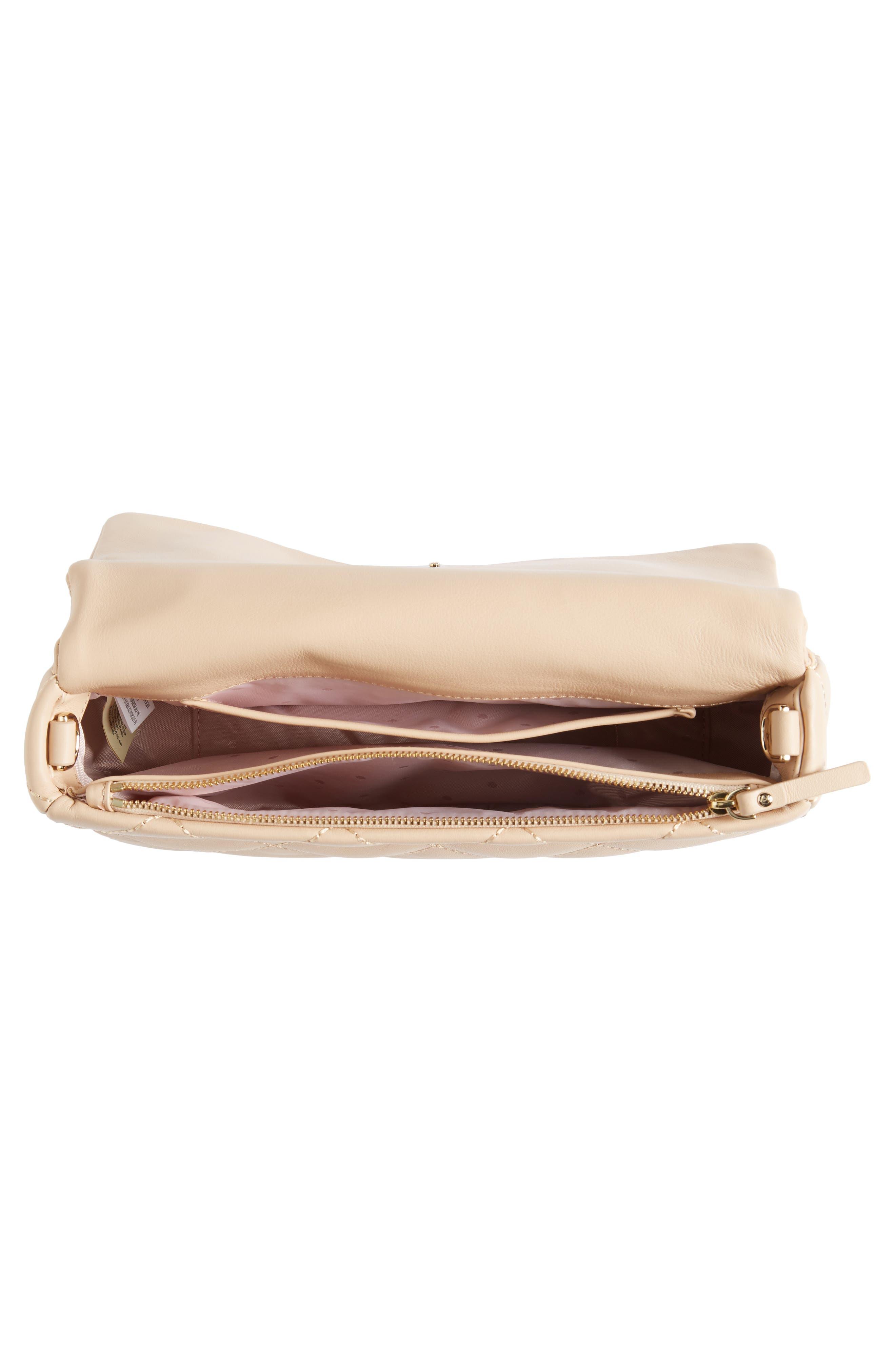 emerson place - serena leather shoulder bag,                             Alternate thumbnail 11, color,
