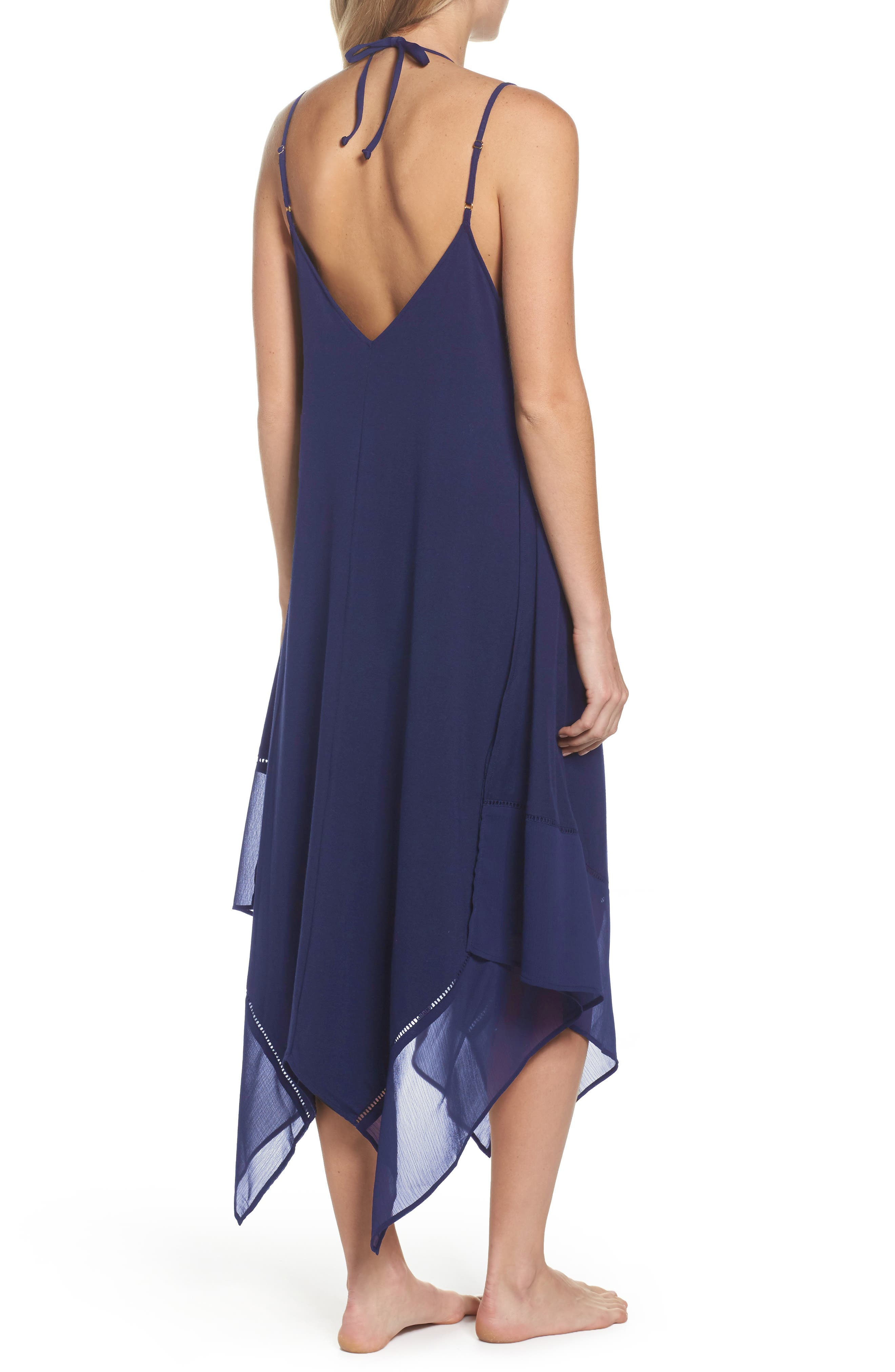 Cover-Up Scarf Dress,                             Alternate thumbnail 4, color,