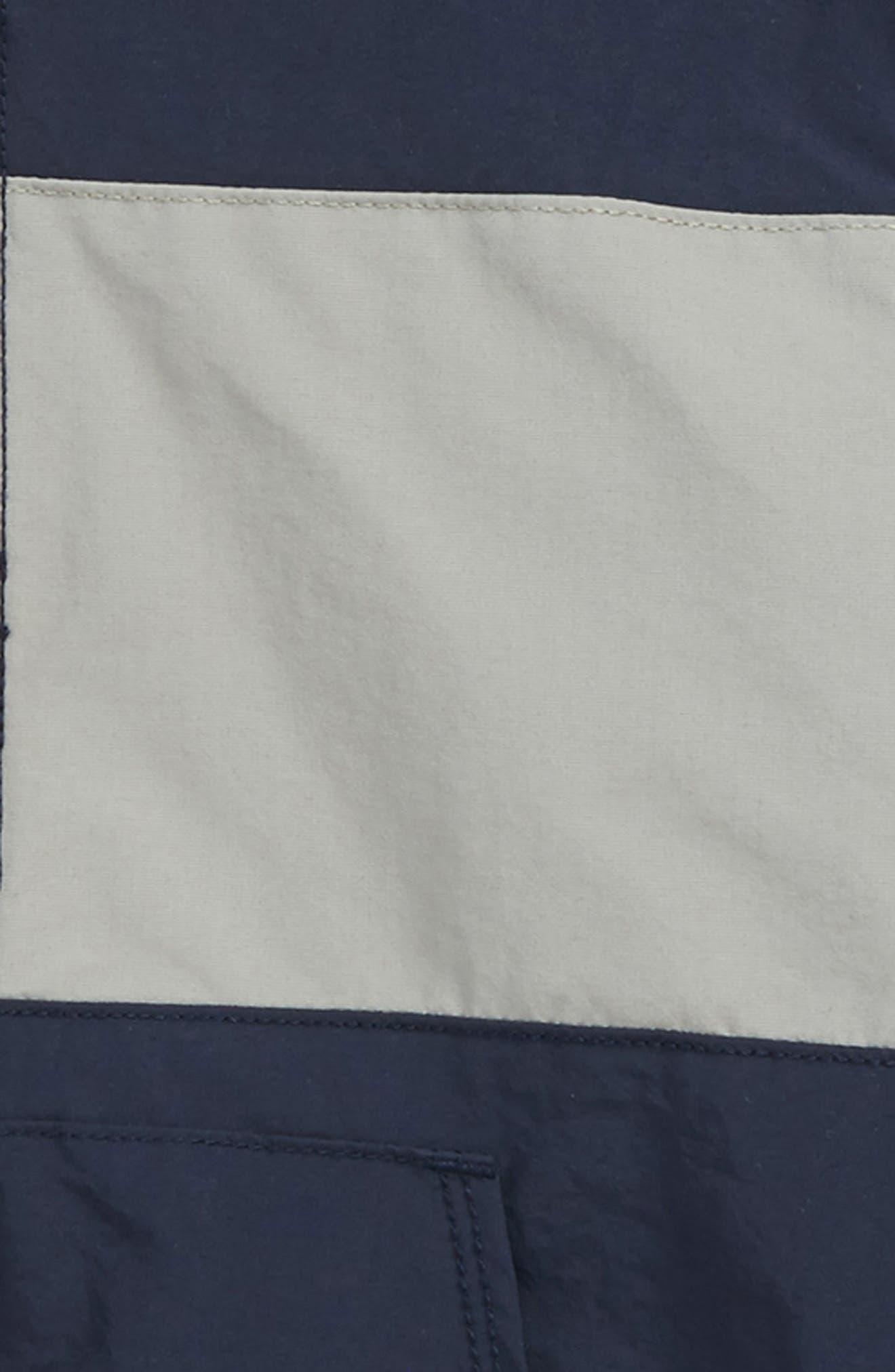 Get Outside Colorblock Hooded Jacket,                             Alternate thumbnail 2, color,                             NAVY BLAZER- GREY