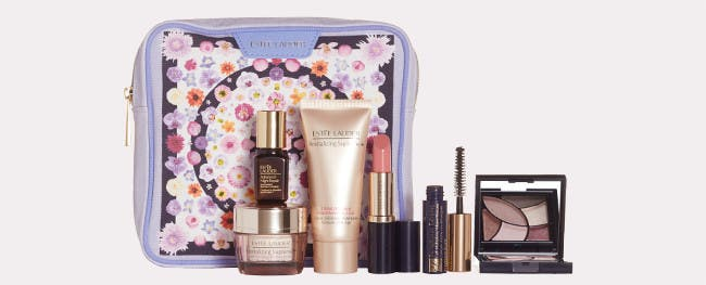 Choose your Estée Lauder gift with purchase.