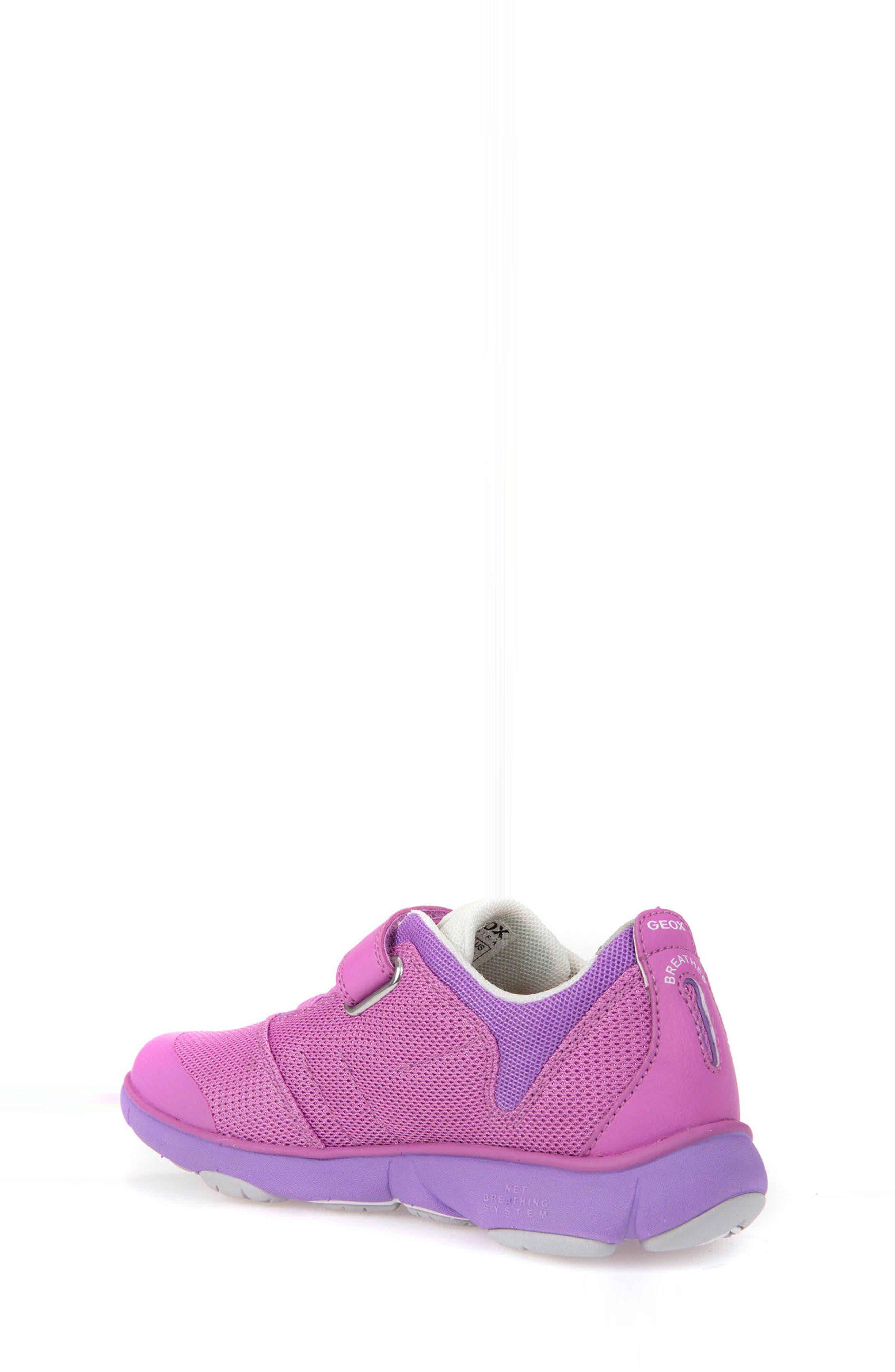 Jr Nebula Waterproof Sneaker,                             Alternate thumbnail 2, color,                             FUCHSIA
