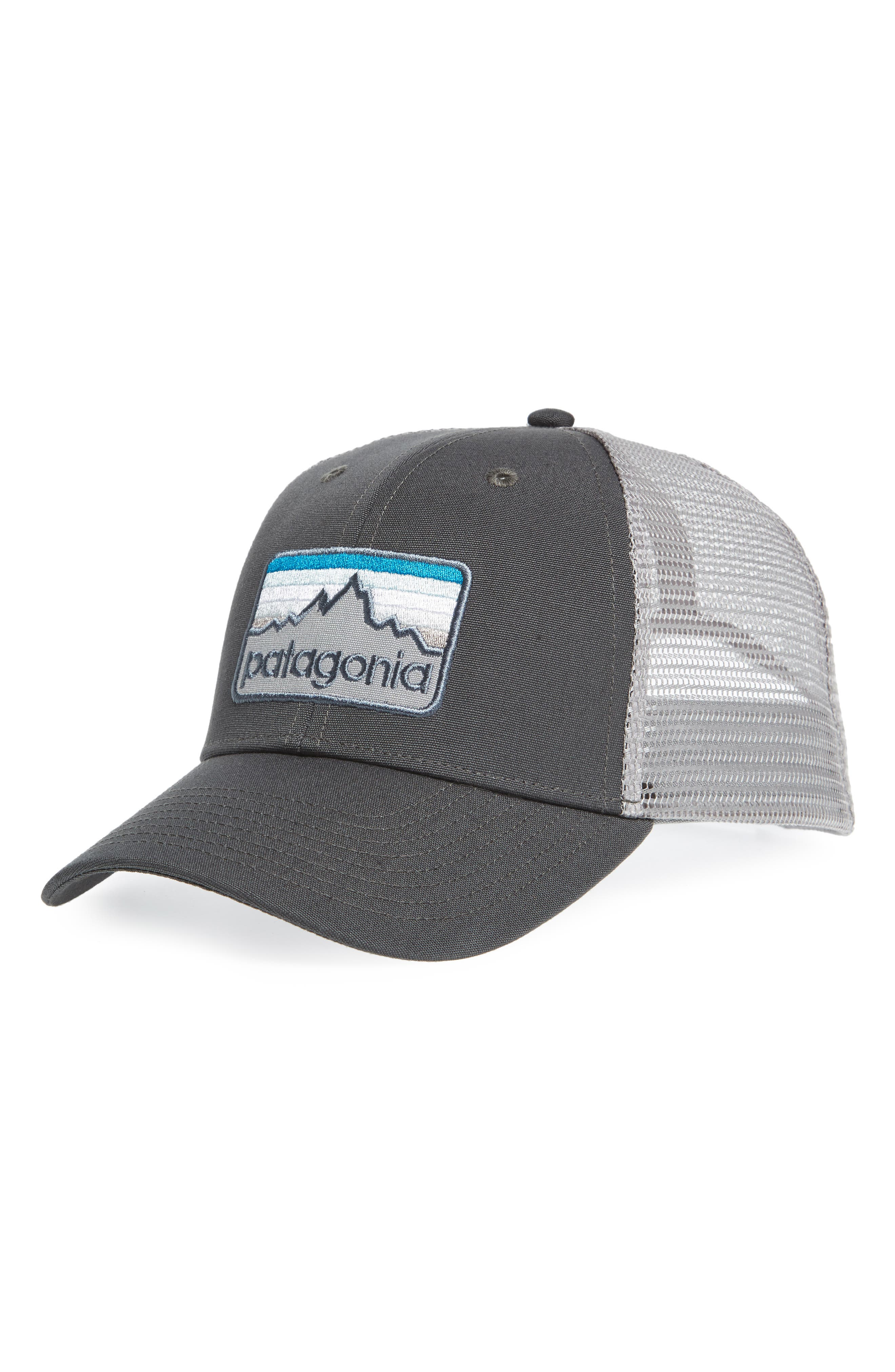 Logo Badge Trucker Hat,                             Main thumbnail 2, color,