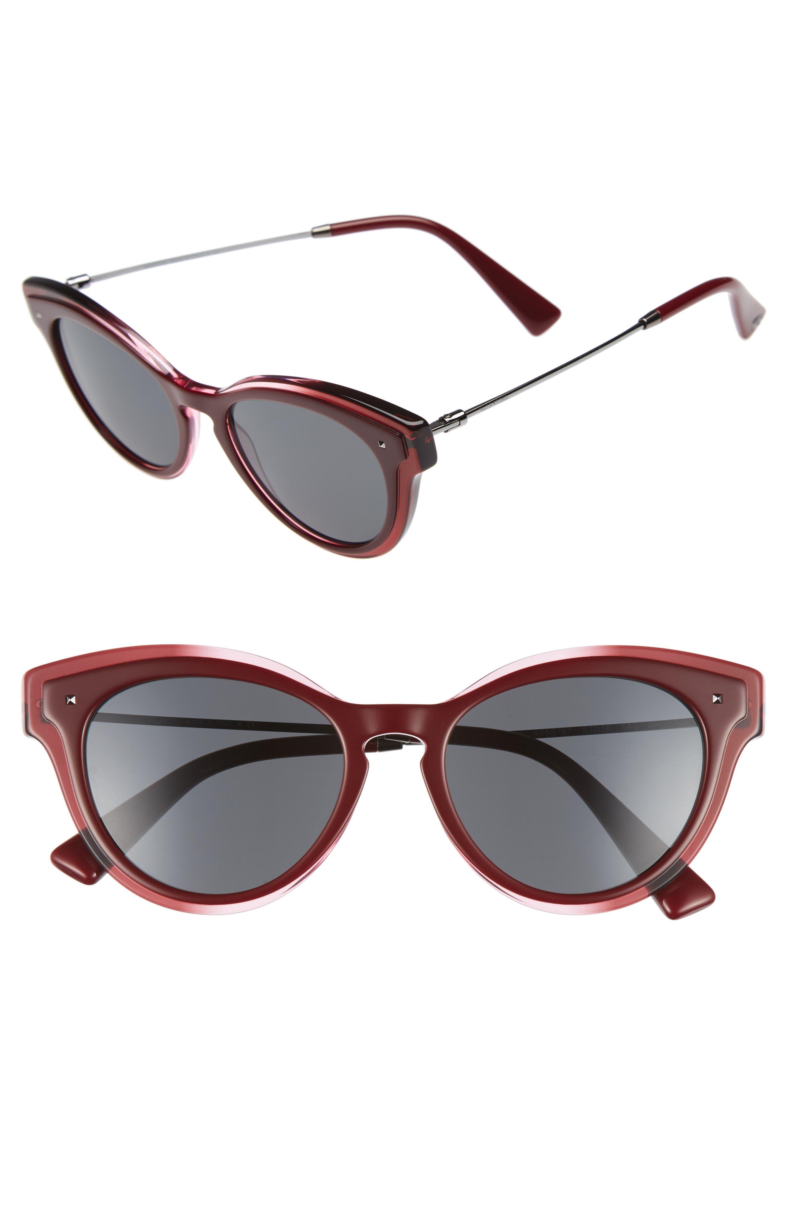 51mm Cat Eye Sunglasses,                         Main,                         color, 600
