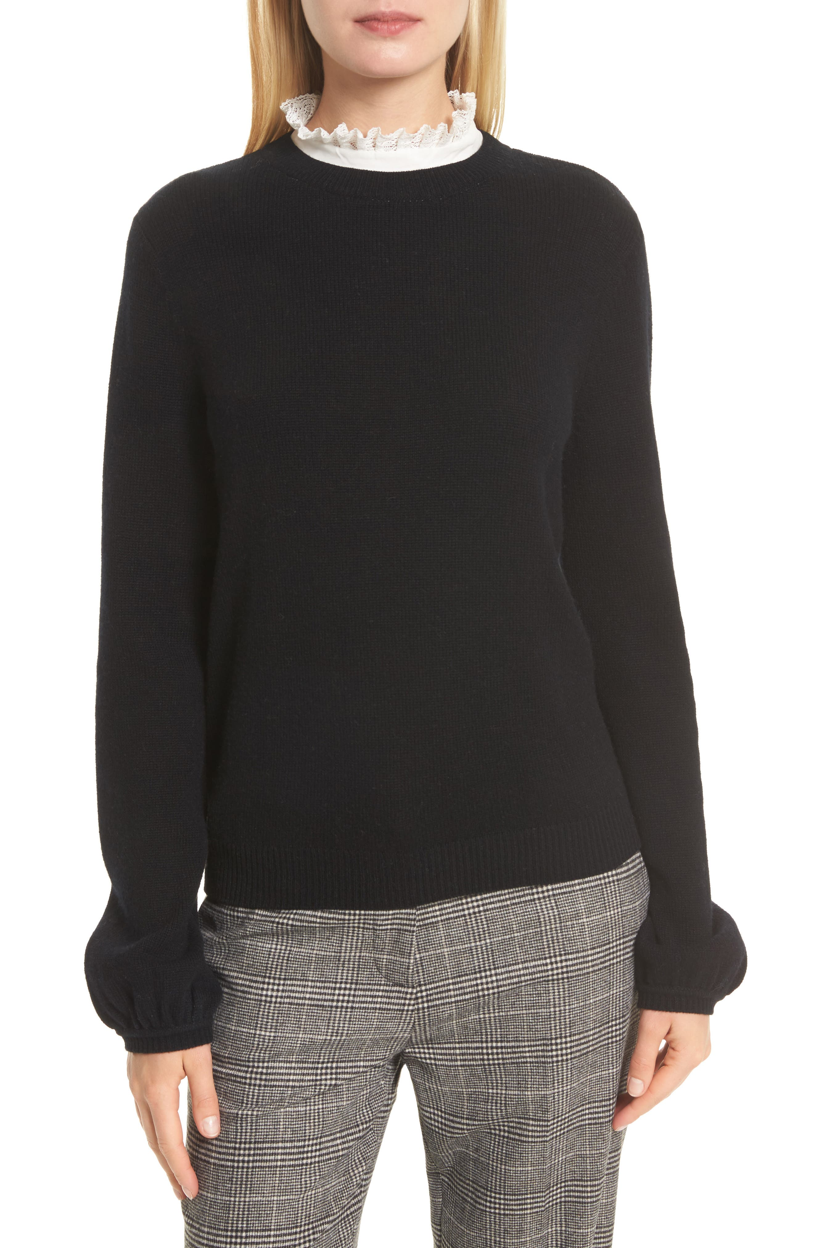 Affie Wool & Cashmere Sweater,                             Main thumbnail 1, color,