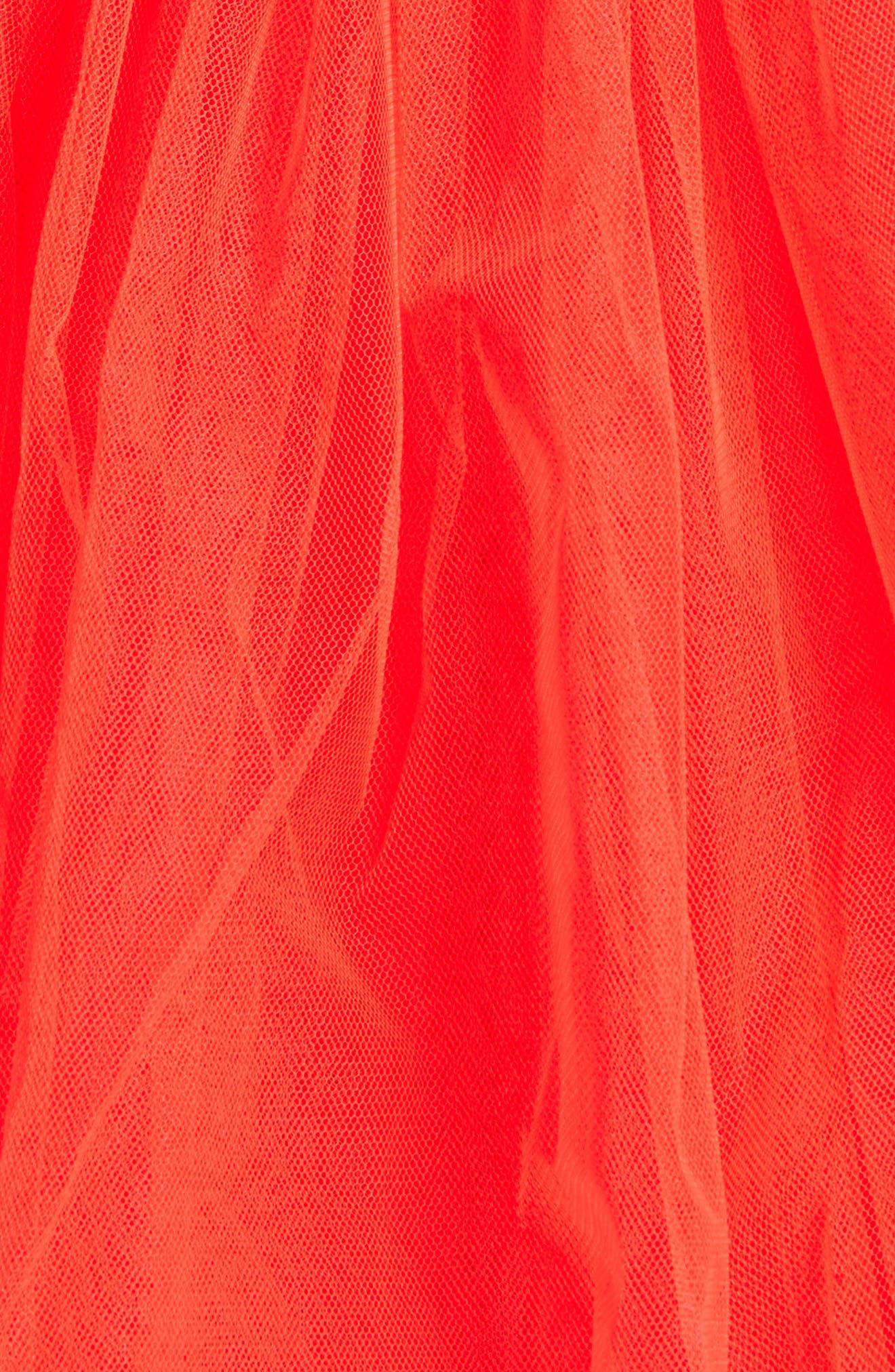 Gathered Tulle Skirt,                             Alternate thumbnail 10, color,