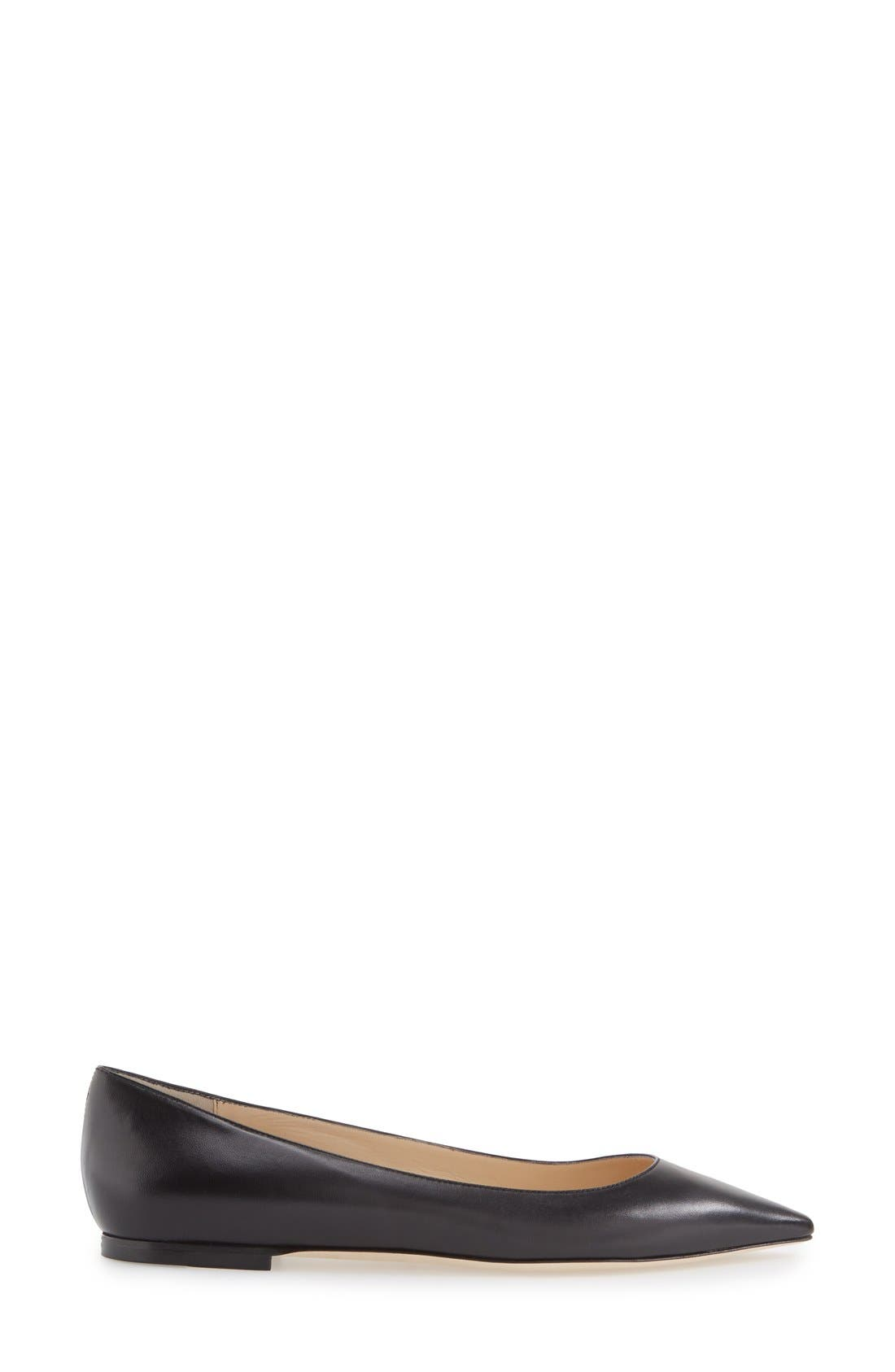 'Romy' Pointy Toe Flat,                             Alternate thumbnail 24, color,