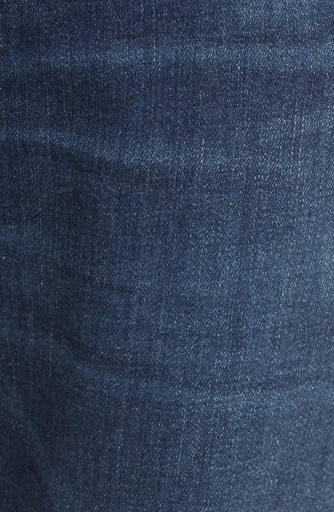 Sid Straight Leg Jeans,                             Alternate thumbnail 5, color,                             401