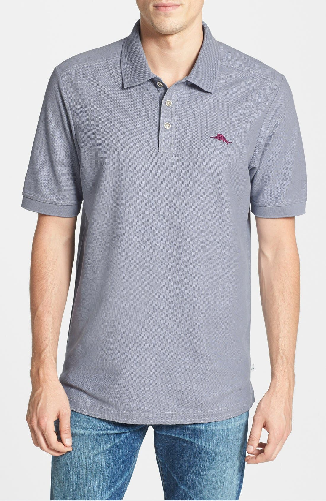 'The Emfielder' Original Fit Piqué Polo,                             Main thumbnail 70, color,