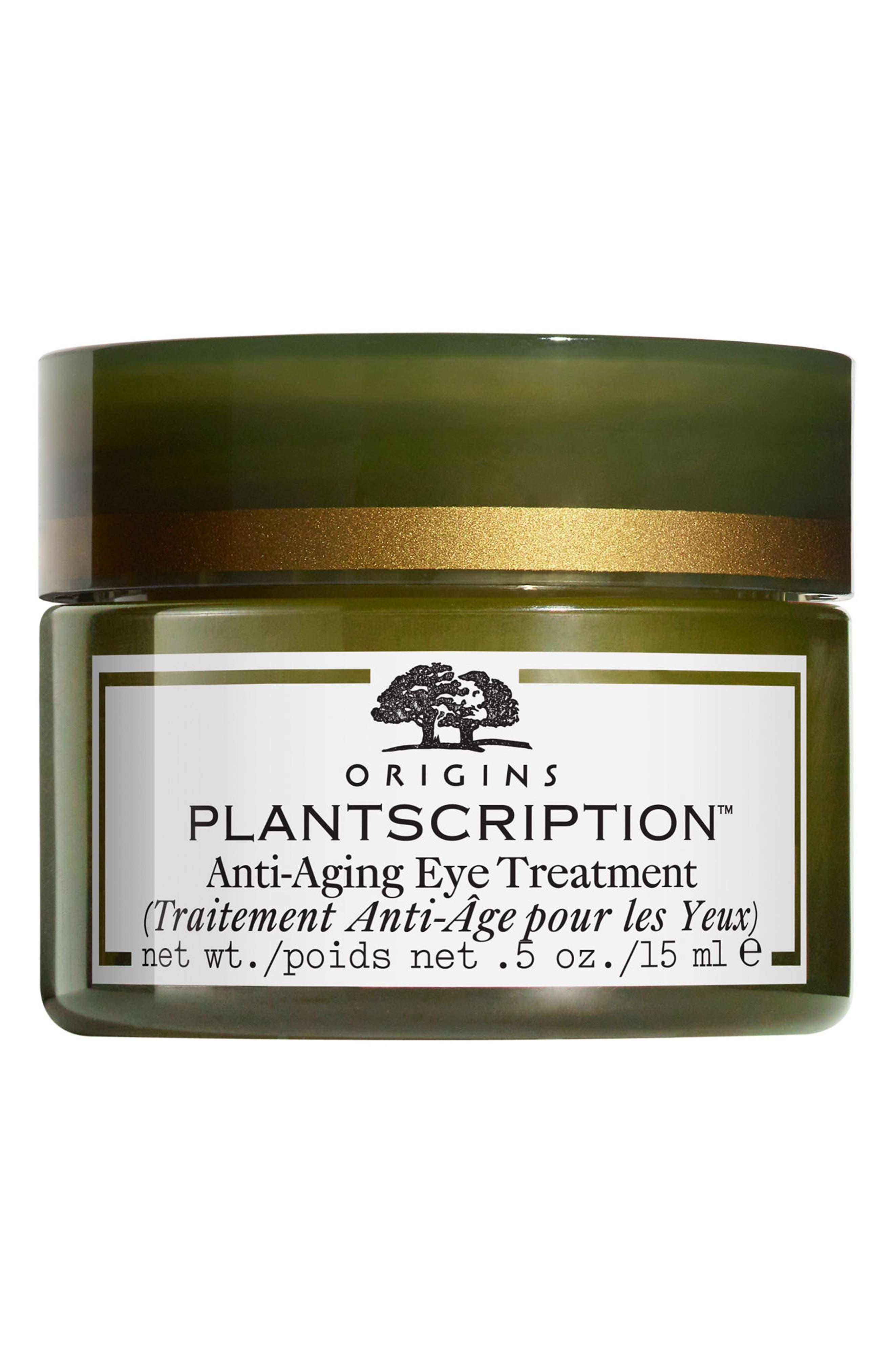 ORIGINS Plantscription<sup>™</sup> Anti-Aging Eye Treatment, Main, color, NO COLOR