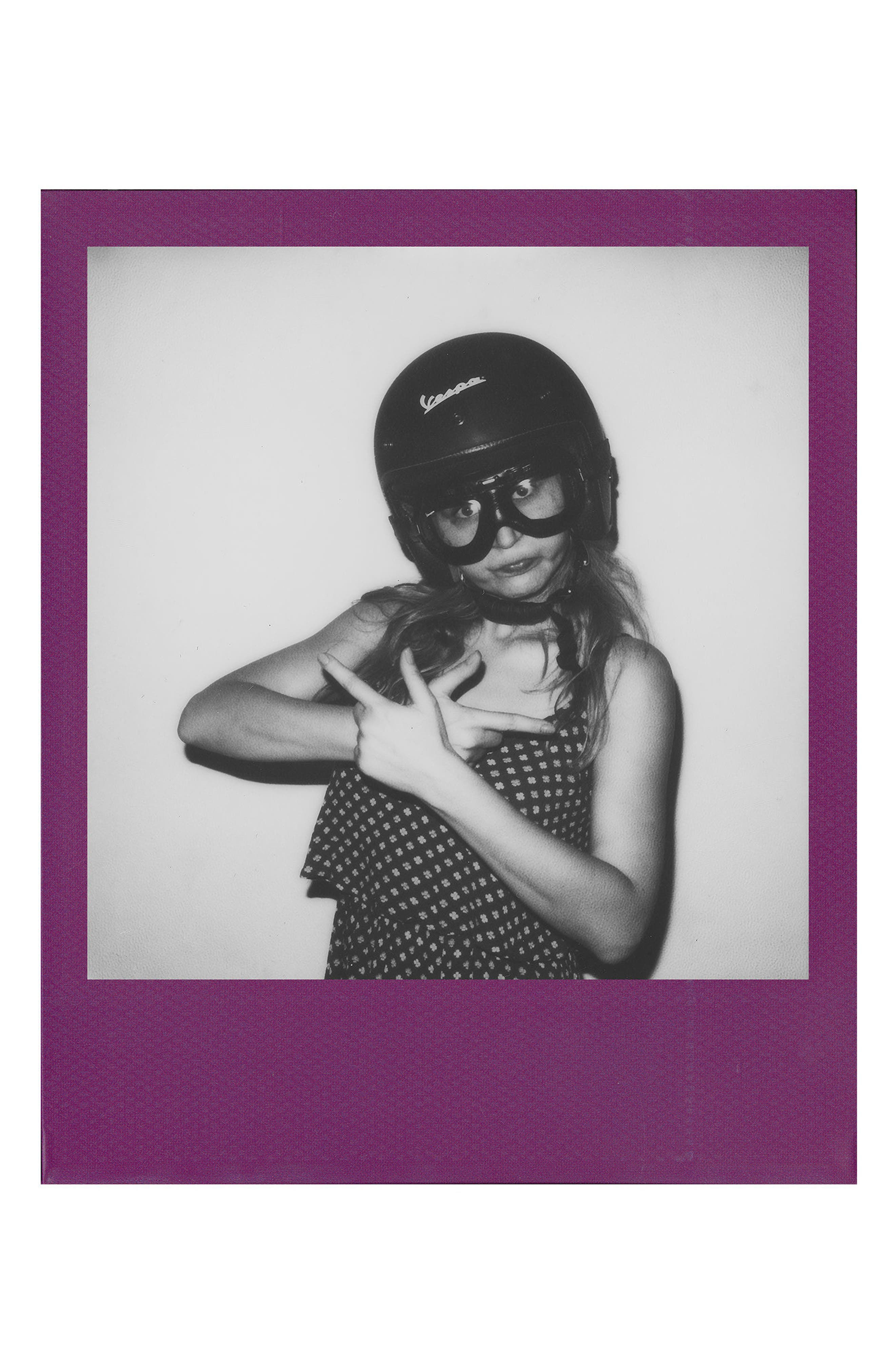 600 Multicolor Frame Black & White Instant Film,                             Alternate thumbnail 8, color,                             NONE