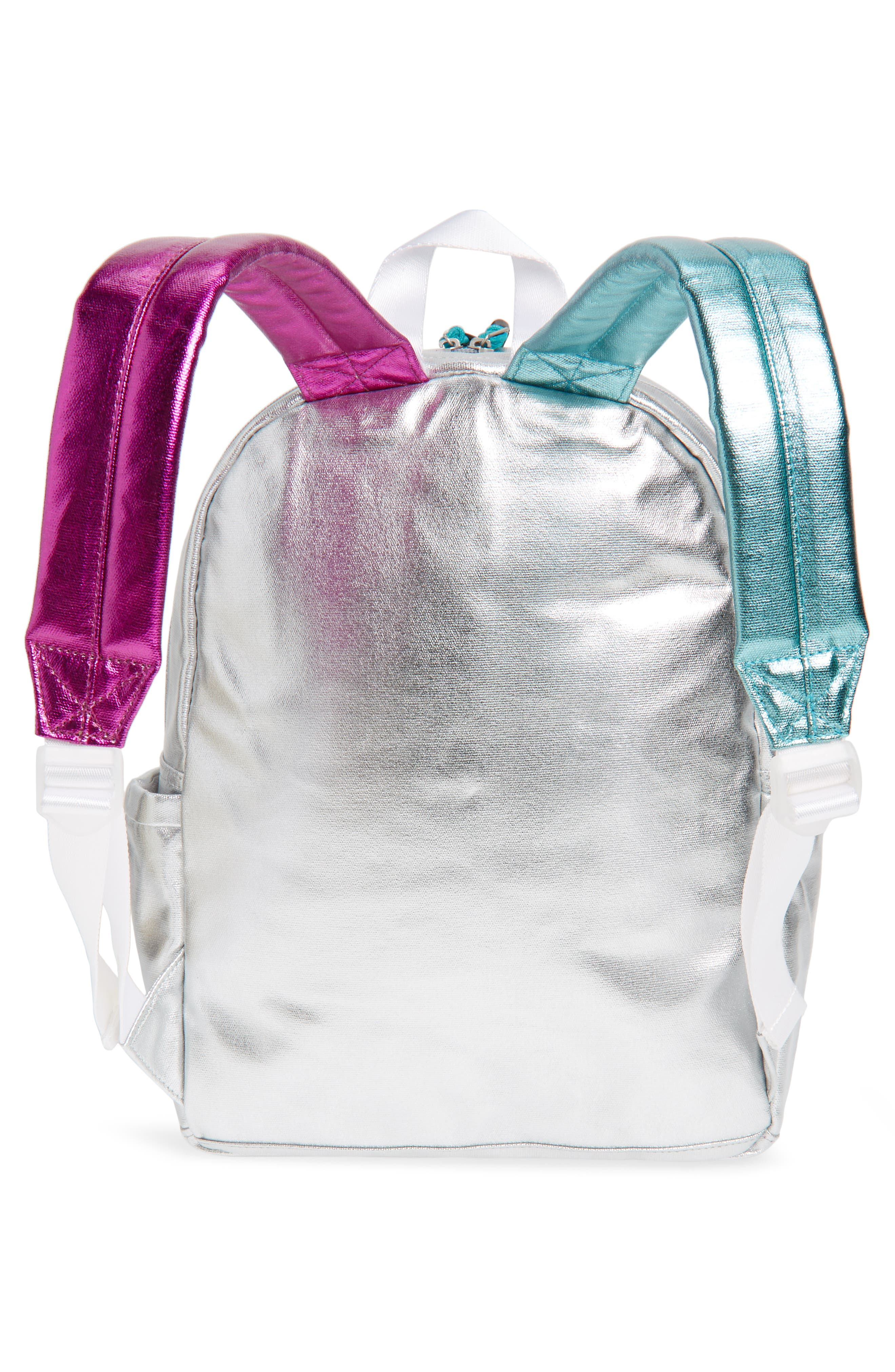 Kane Metallic Backpack,                             Alternate thumbnail 2, color,