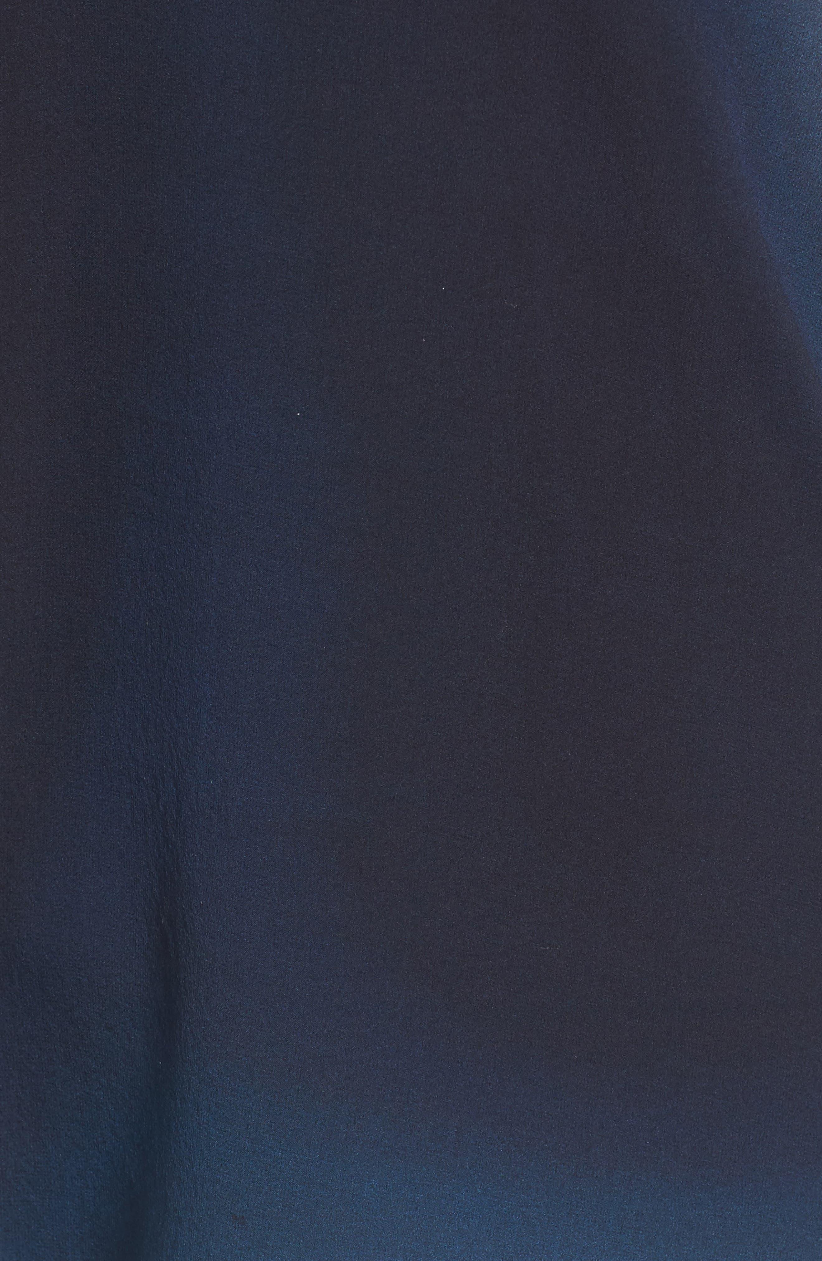 Ombré Silk Short Sleeve Top,                             Alternate thumbnail 13, color,