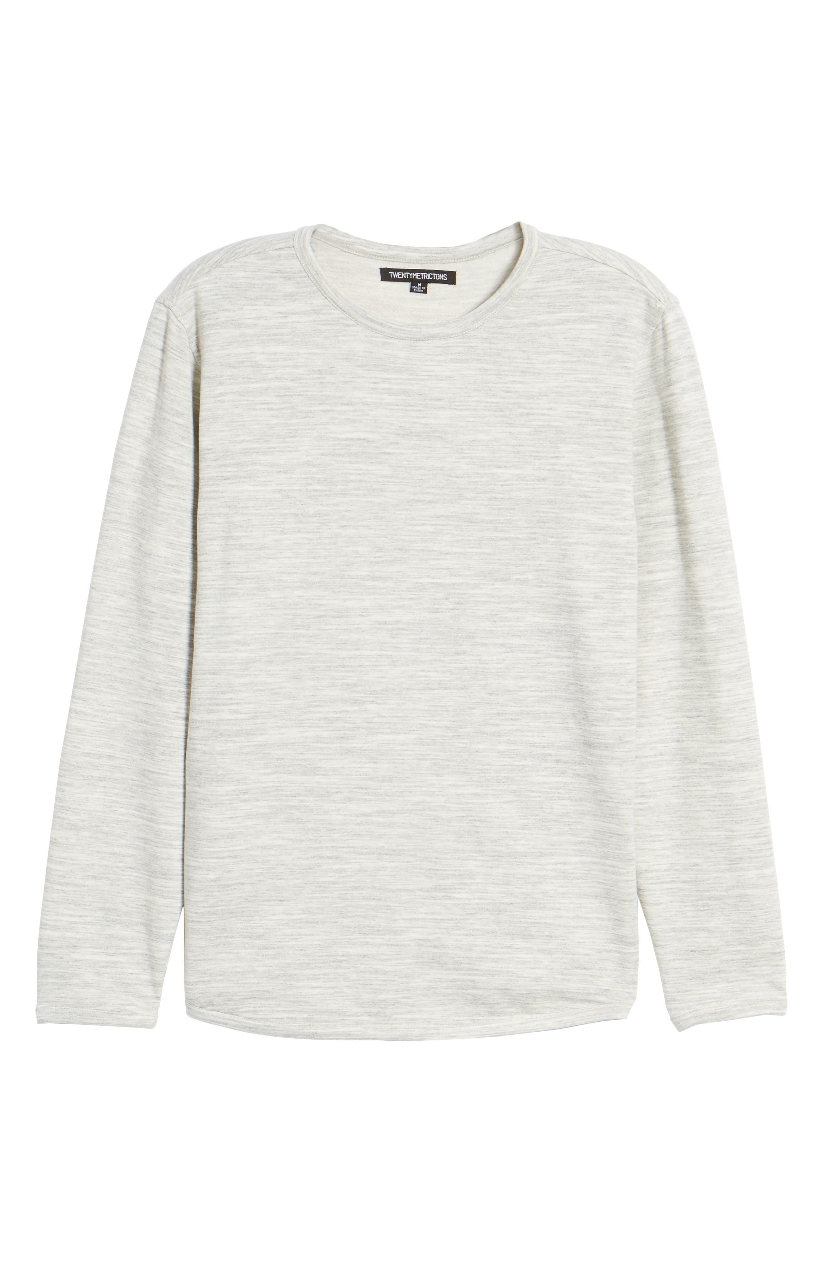 Long Sleeve T-Shirt,                             Alternate thumbnail 6, color,                             029
