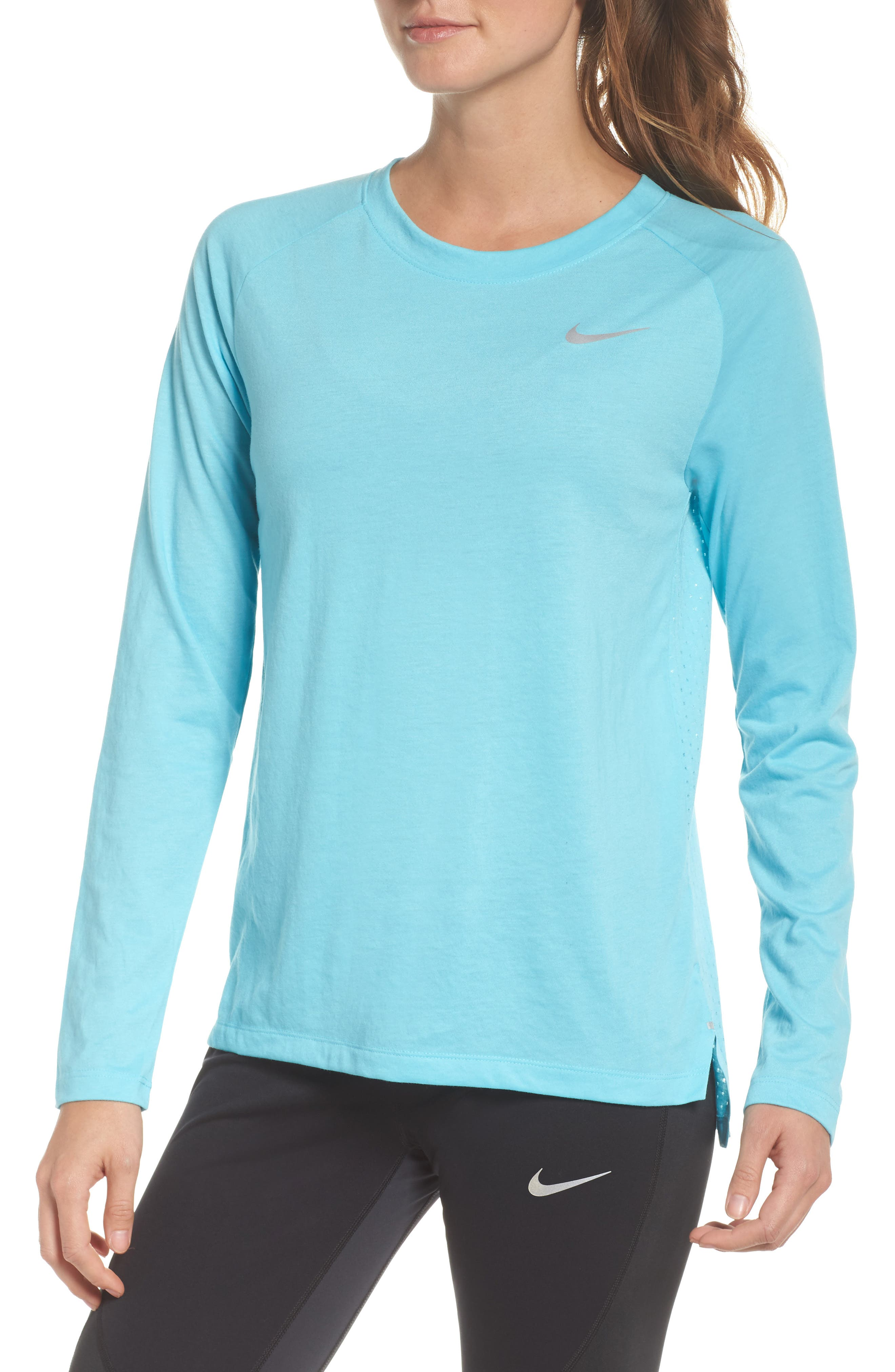 Breathe Tailwind Running Top,                             Main thumbnail 2, color,