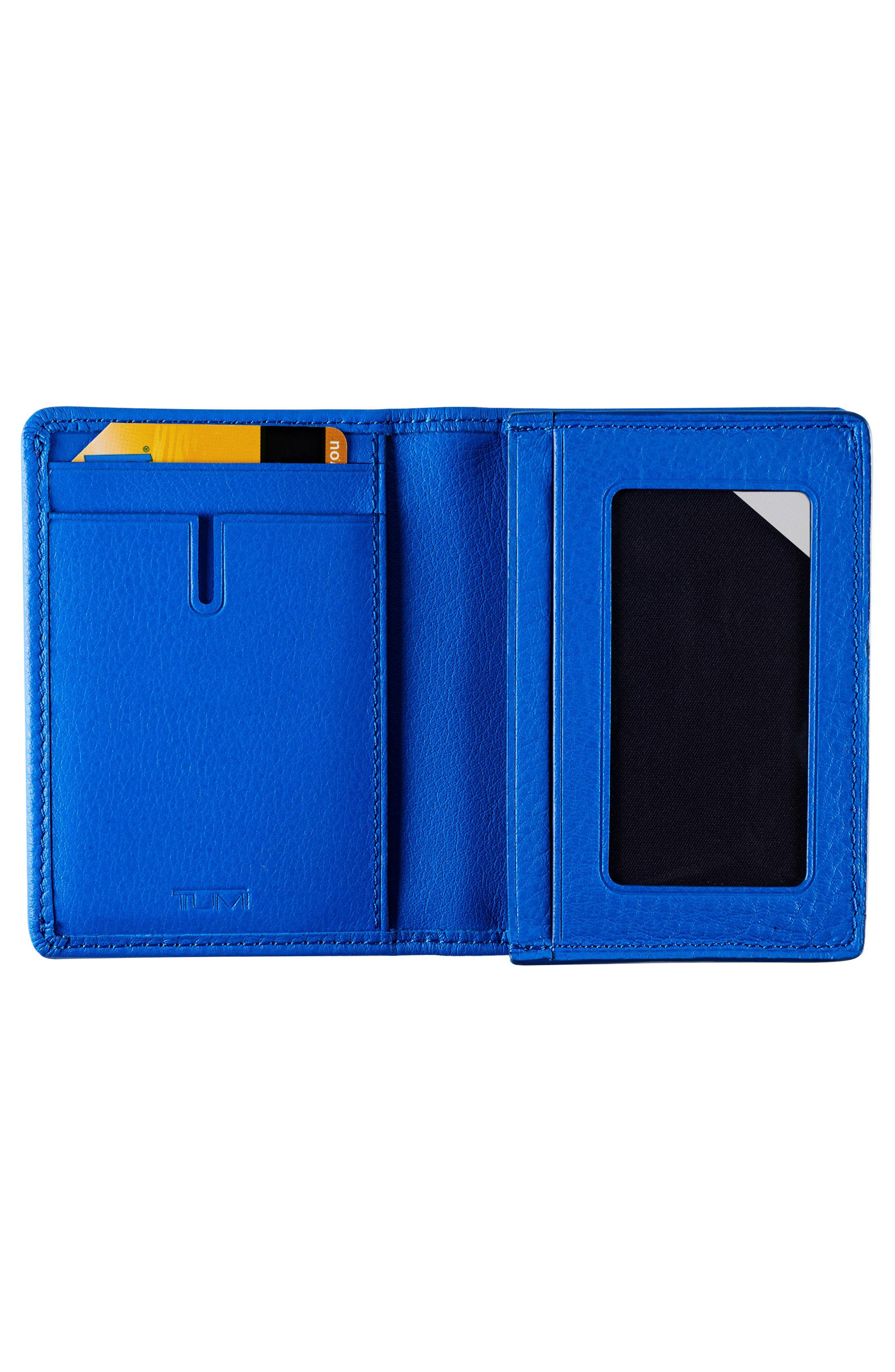 Leather RFID Card Case,                             Alternate thumbnail 6, color,
