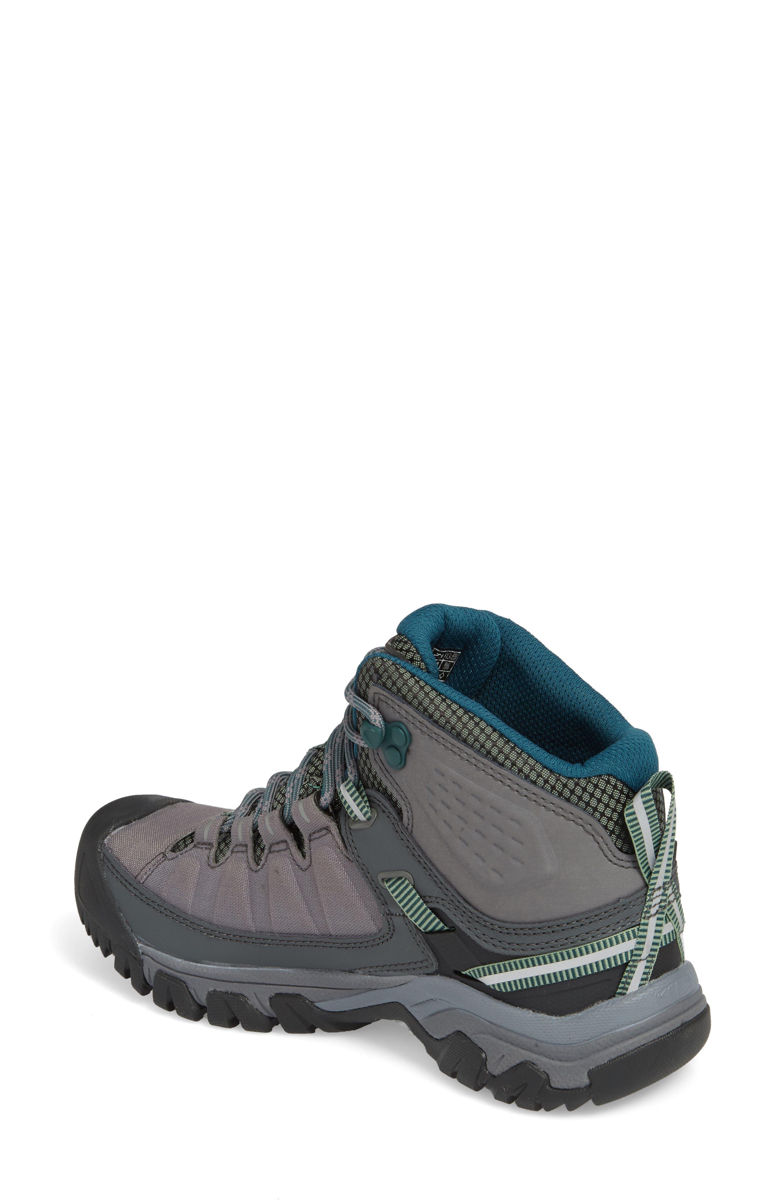 Targhee EXP Mid Waterproof Hiking Shoe,                             Alternate thumbnail 2, color,                             STEEL GREY/ BASIL