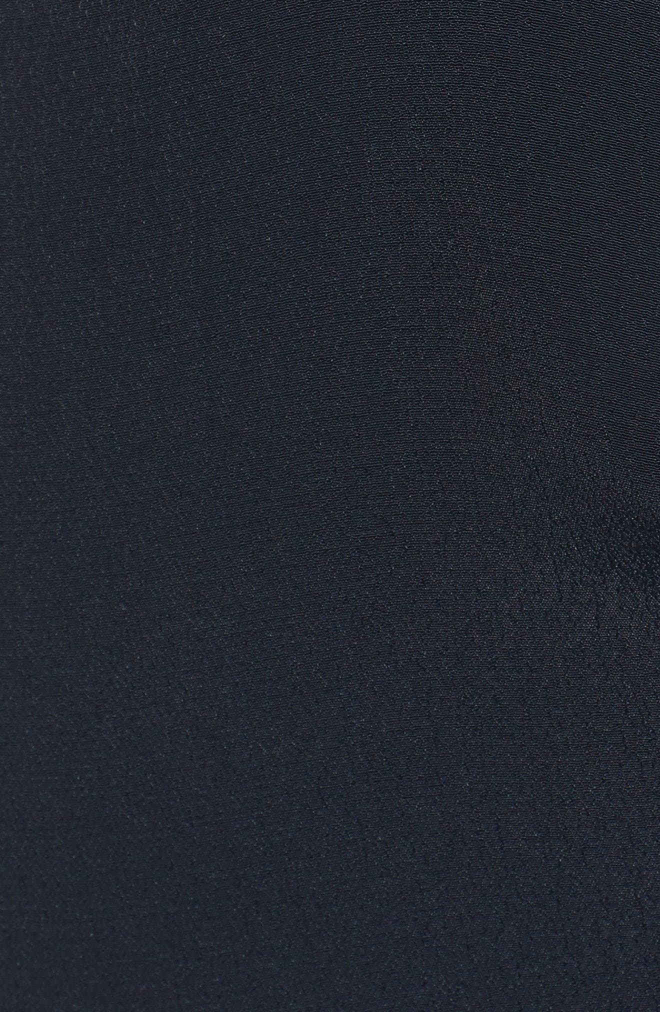 Juel Side Tie Midi Dress,                             Alternate thumbnail 6, color,                             400