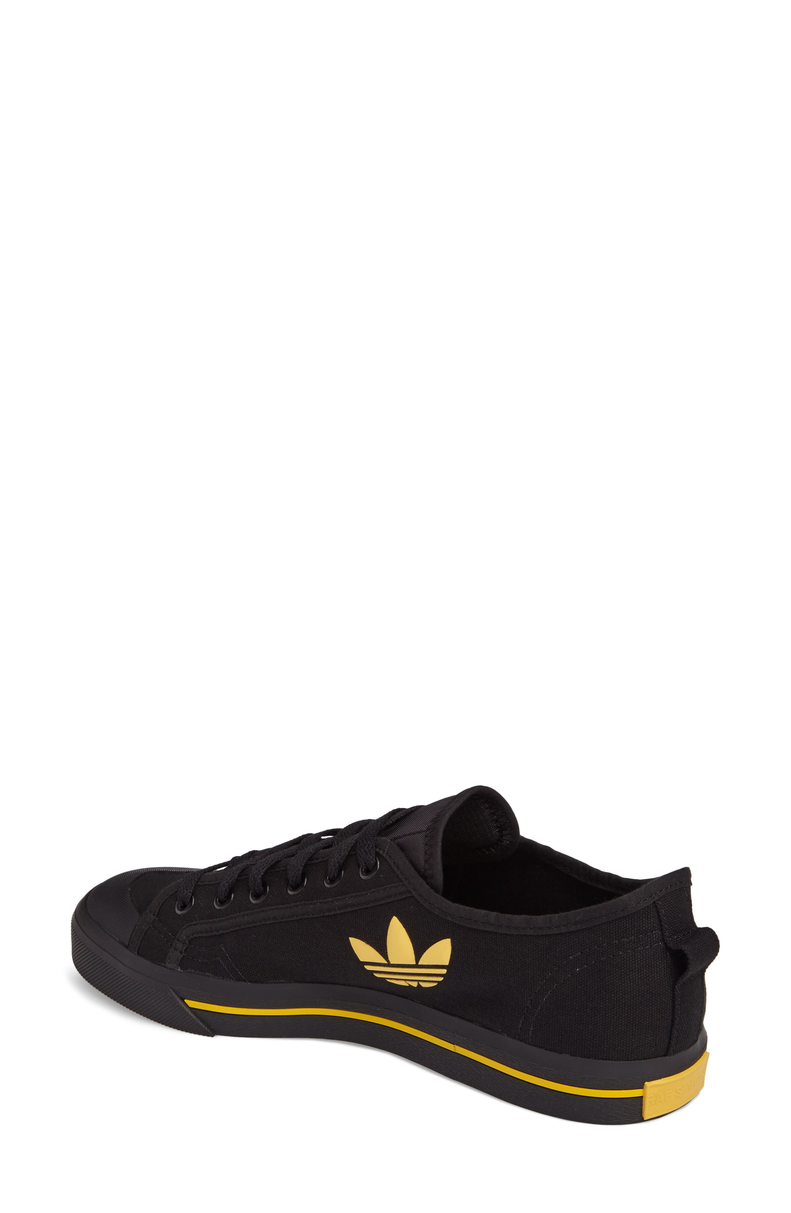 adidas by Raf Simons Spirit Low Top Sneaker,                             Alternate thumbnail 2, color,                             001