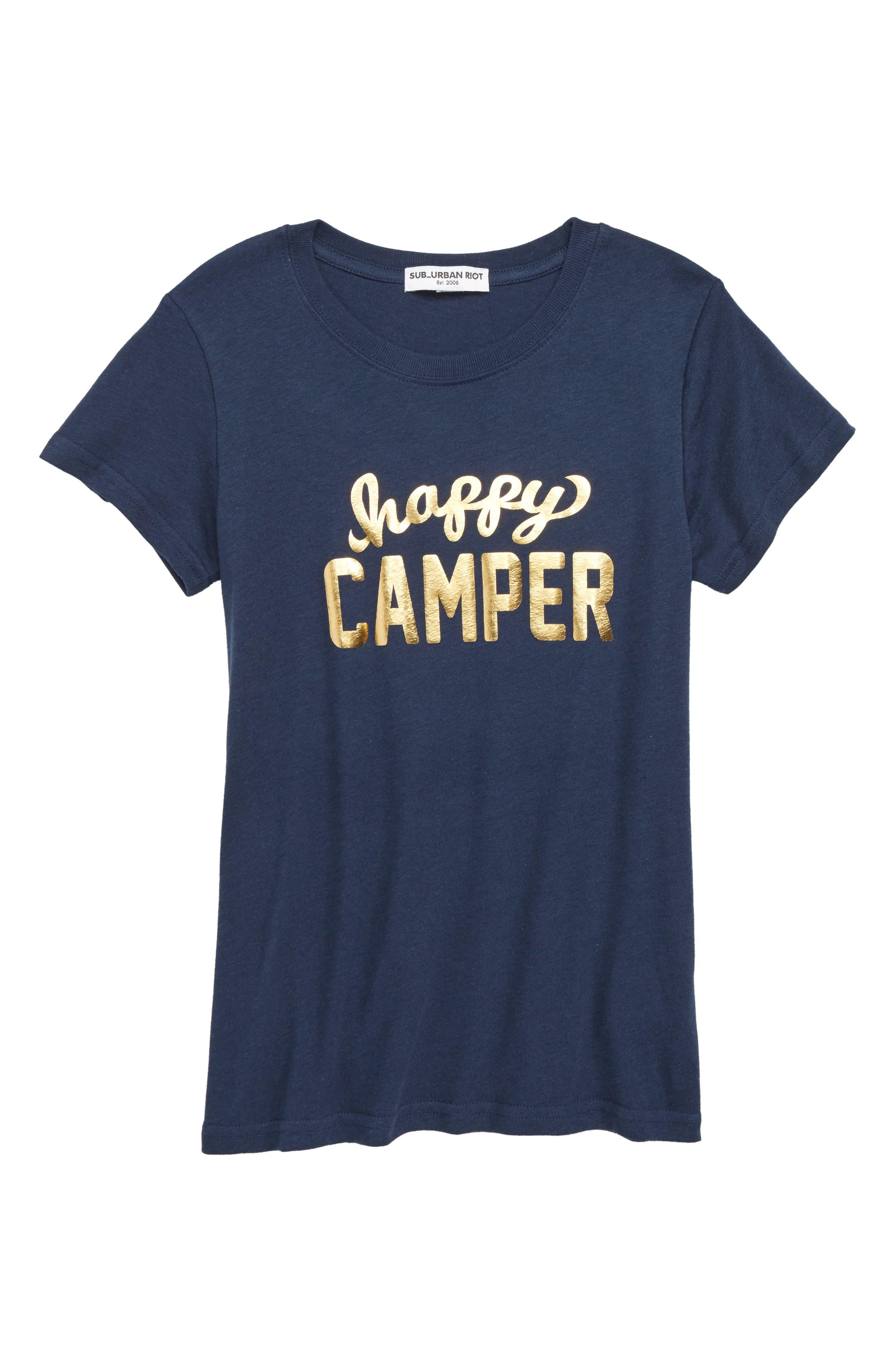 Happy Camper Tee,                             Main thumbnail 1, color,                             400