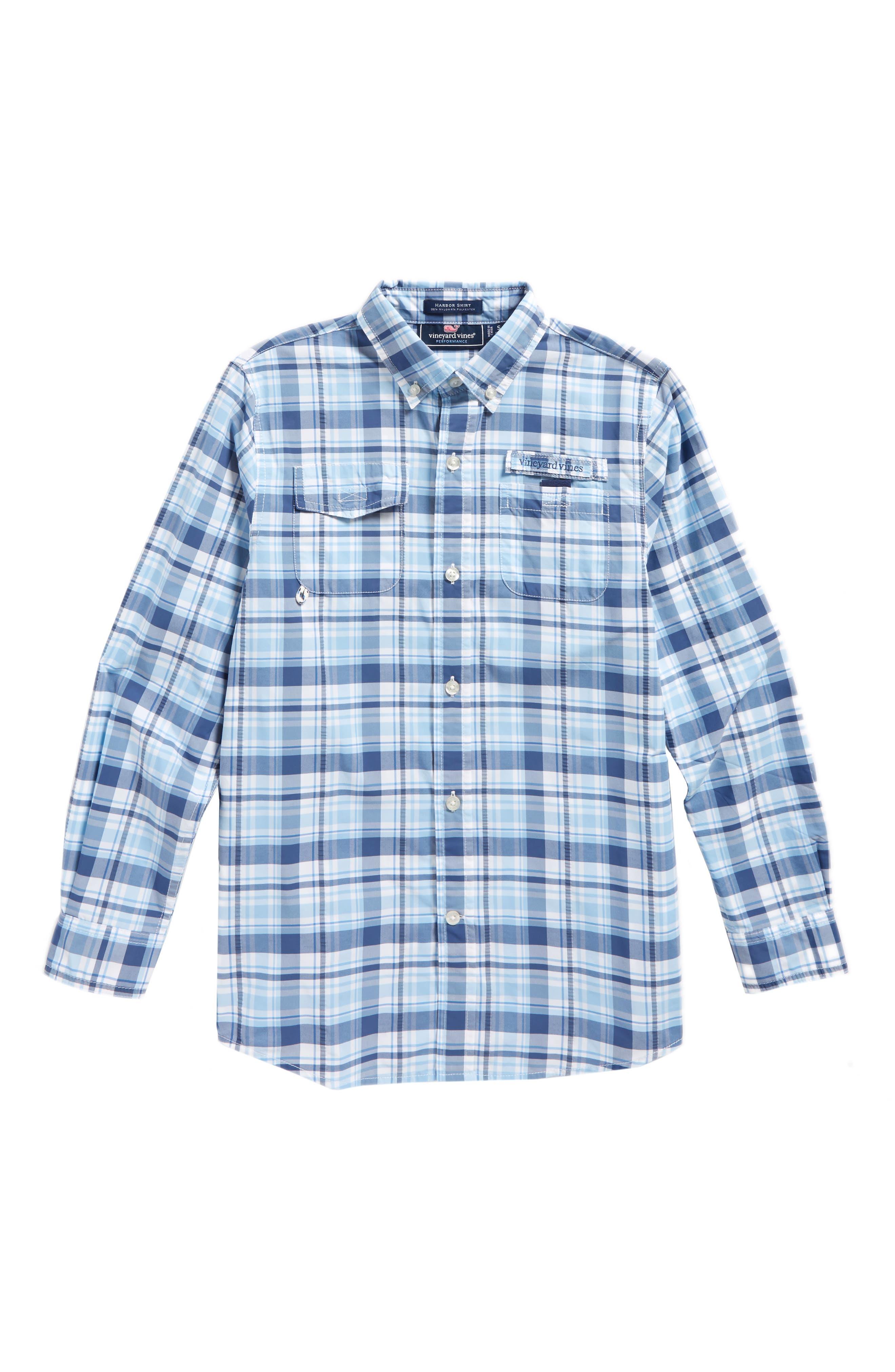 Harbor Plaid Shirt,                             Main thumbnail 1, color,