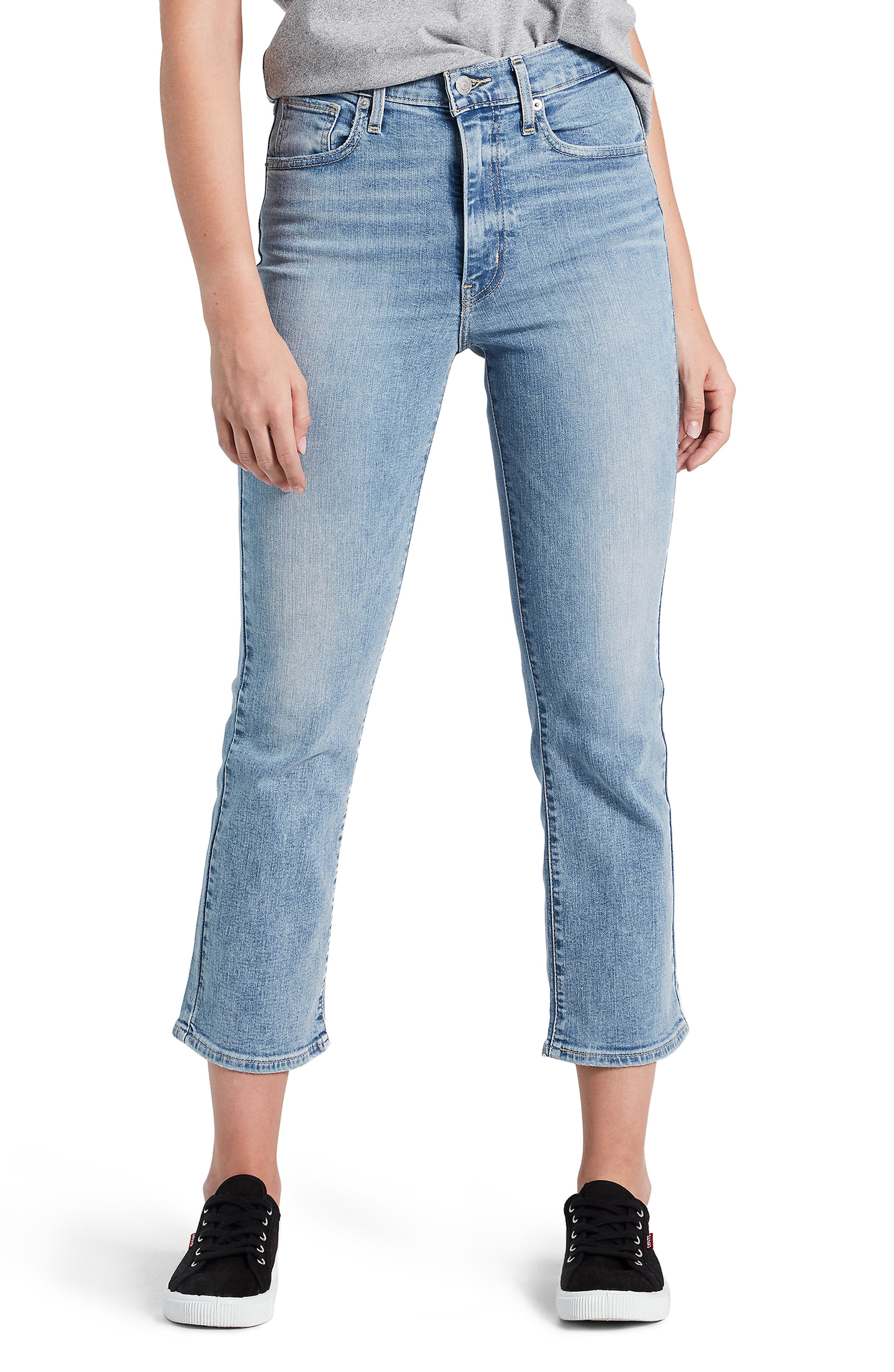 Mile High Crop Flare Jeans In Late To The Game