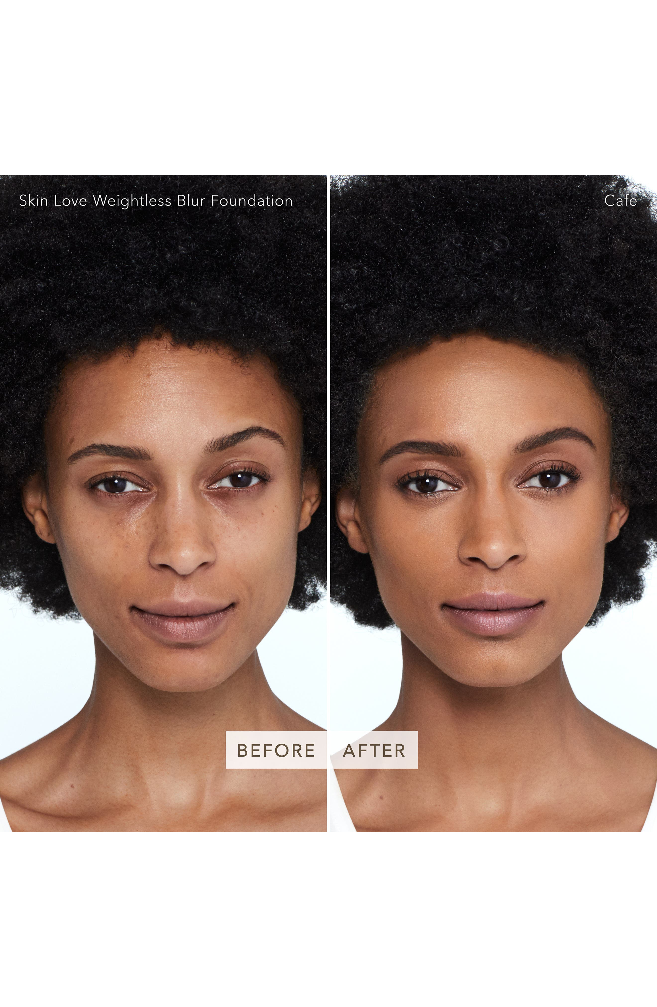BECCA Skin Love Weightless Blur Foundation,                             Alternate thumbnail 2, color,                             CAFE