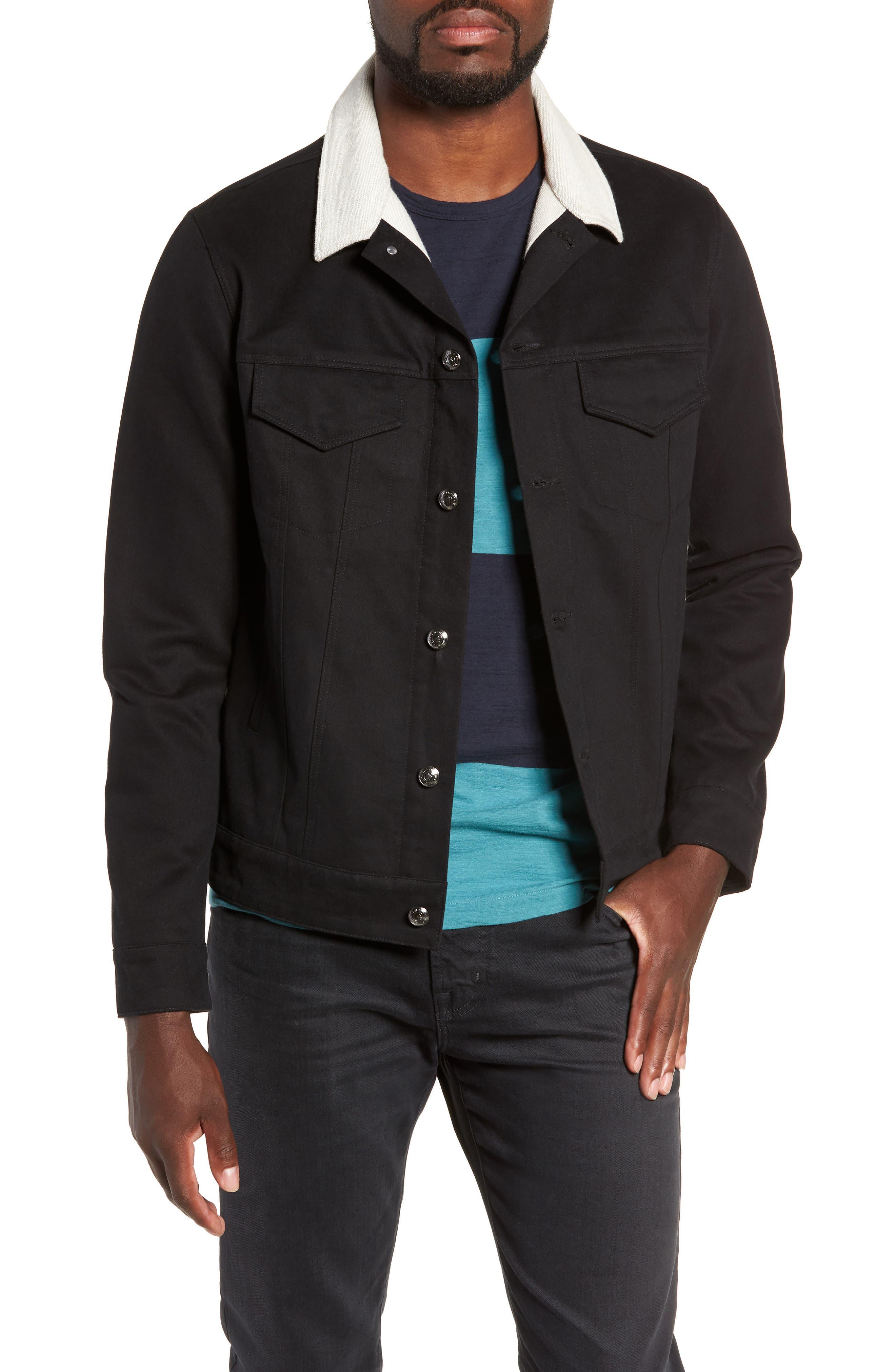 Webster Workman Jacket,                             Main thumbnail 1, color,                             BLACK