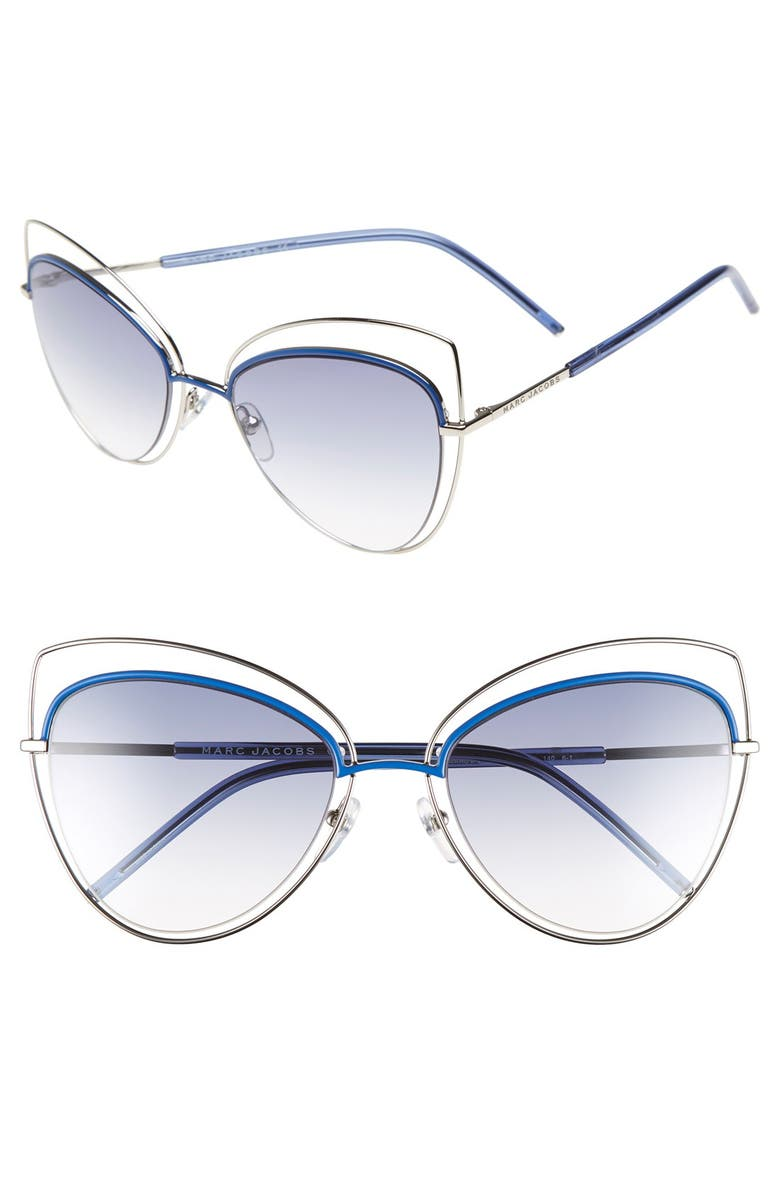 Marc Jacobs Women s Floating Cat Eye Sunglasses, 56mm-Jewelry   Accessories 2803690d19