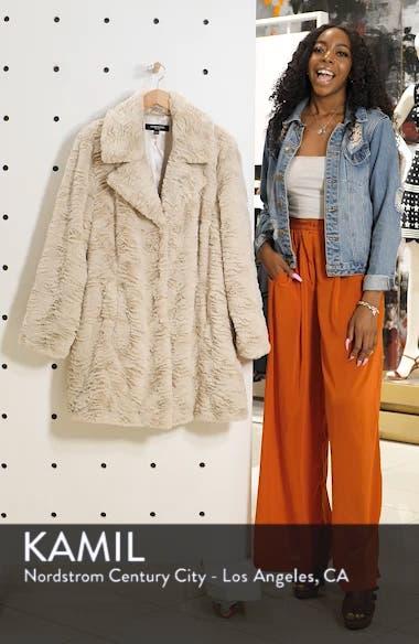 Wubby Faux Fur Coat, sales video thumbnail