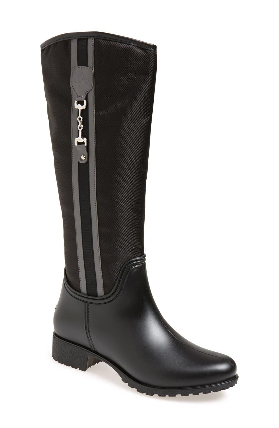 'Fairfield' Tall Rain Boot,                             Main thumbnail 1, color,                             006