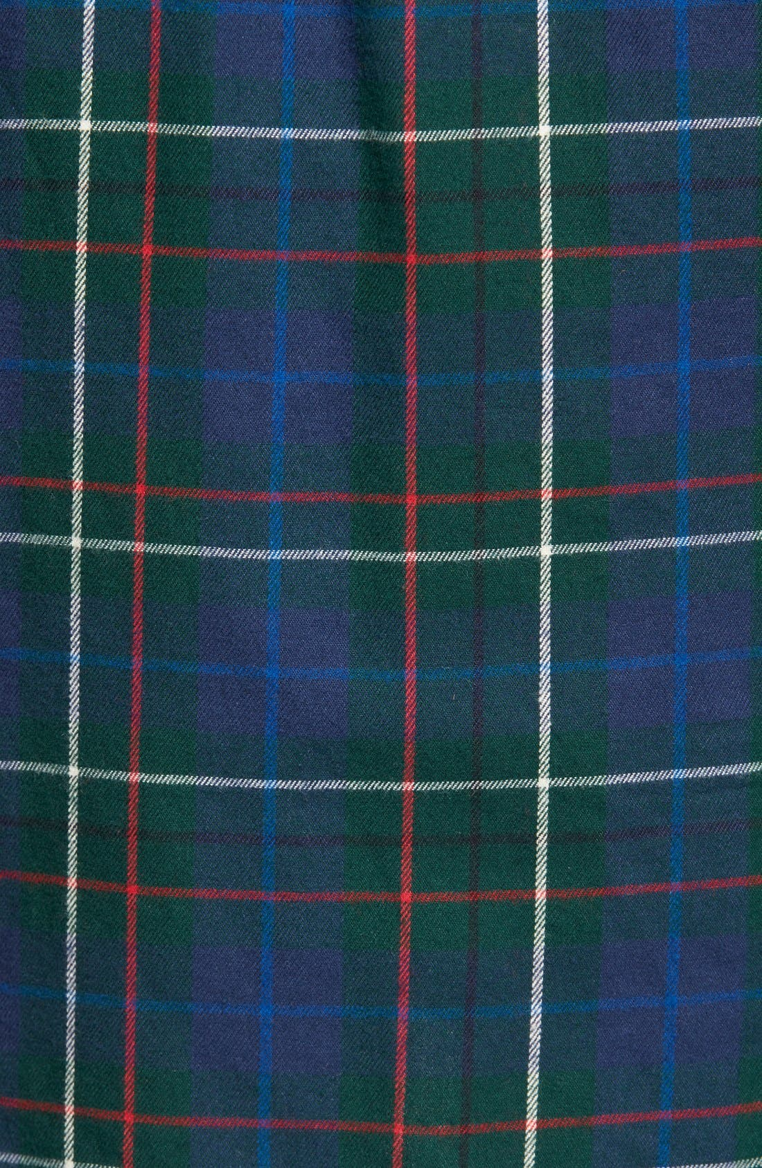 Ex Boyfriend - Ontario Plaid Flannel Shirt,                             Alternate thumbnail 5, color,