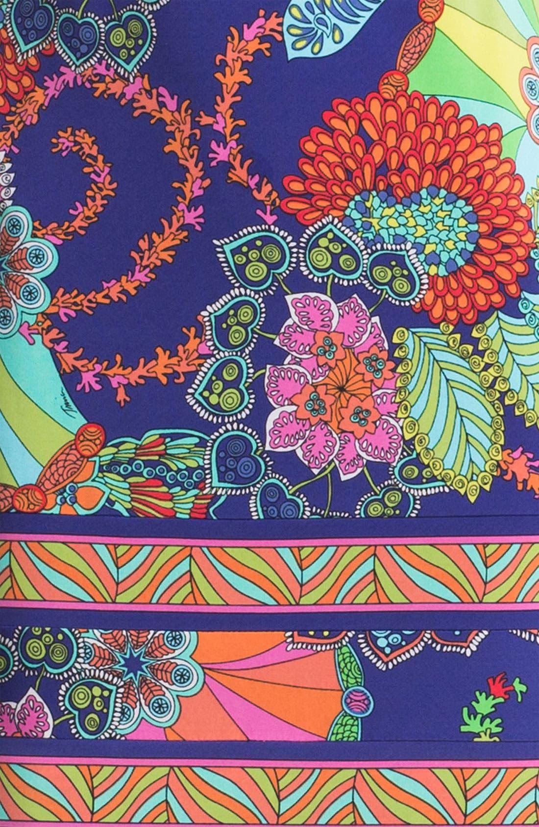 TRINA TURK,                             'Felana' Print Jersey Shift Dress,                             Alternate thumbnail 2, color,                             400