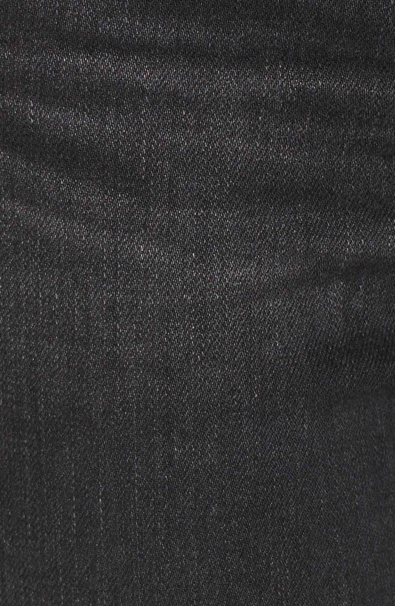 AG,                             Isabelle High Waist Step Hem Jeans,                             Alternate thumbnail 5, color,                             419