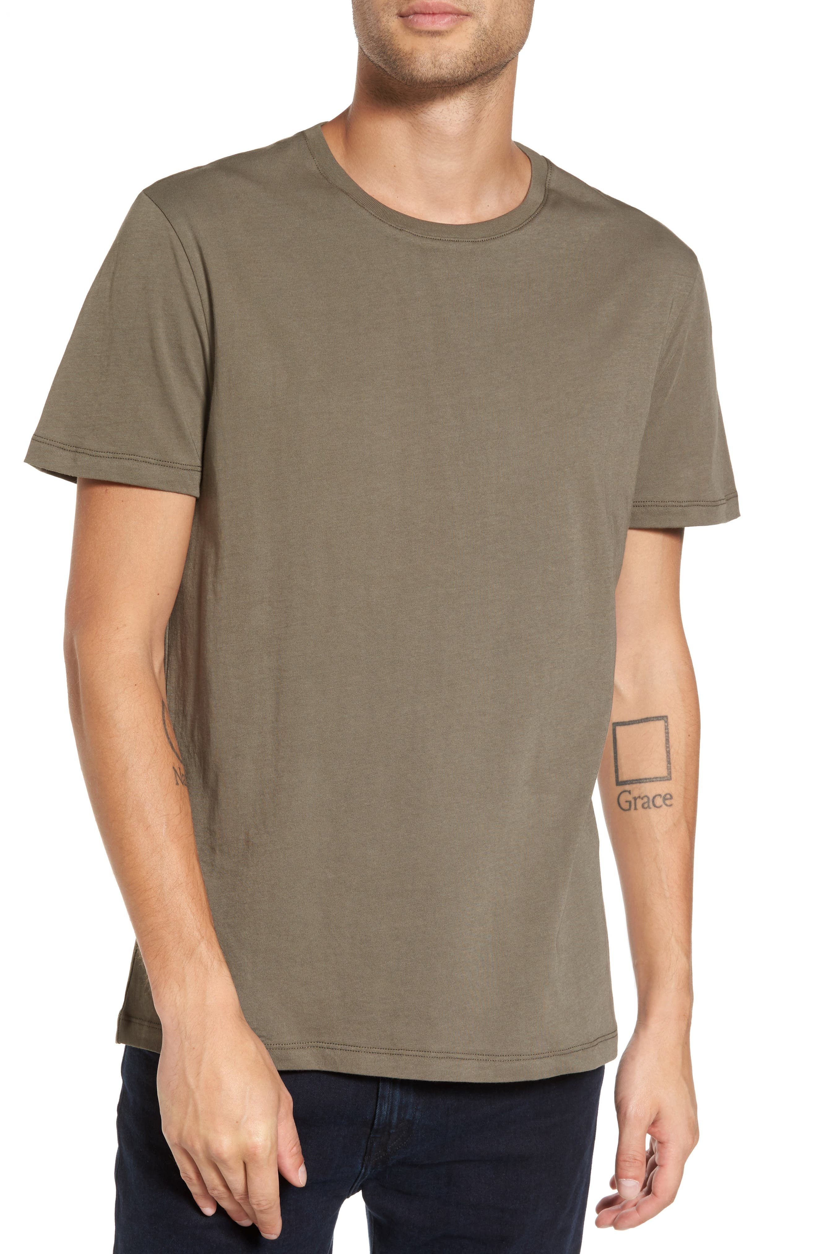 Solid T-Shirt,                             Main thumbnail 2, color,