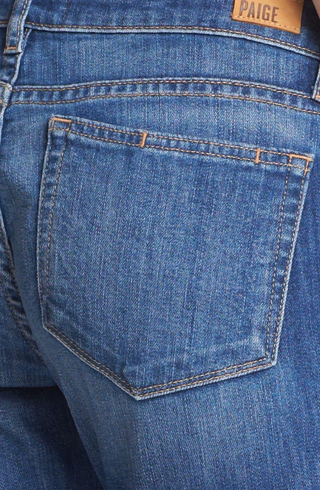 Denim 'James' Crop Jeans,                             Alternate thumbnail 3, color,