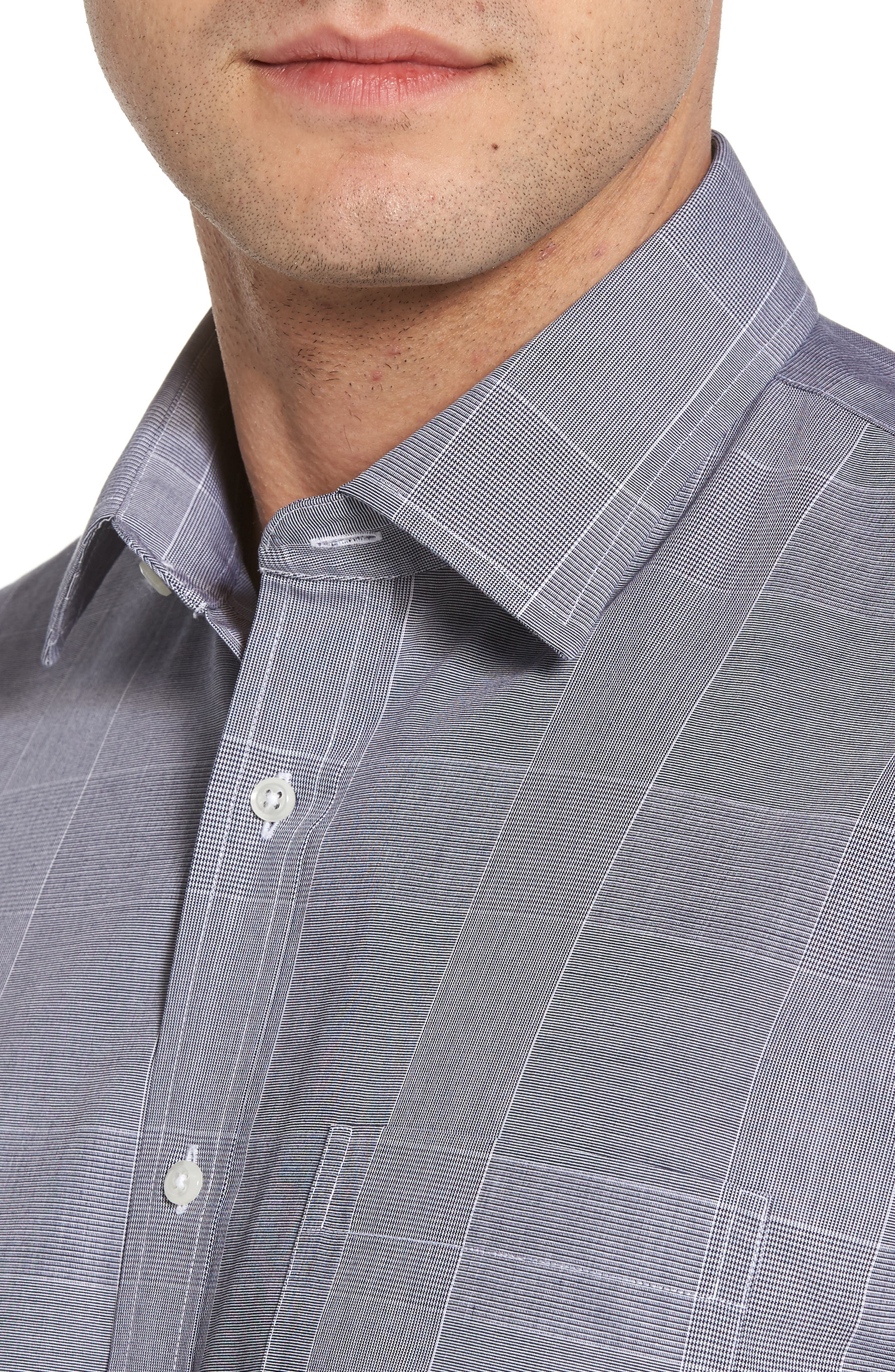 Smartcare<sup>™</sup> Traditional Fit Plaid Dress Shirt,                             Alternate thumbnail 2, color,                             401