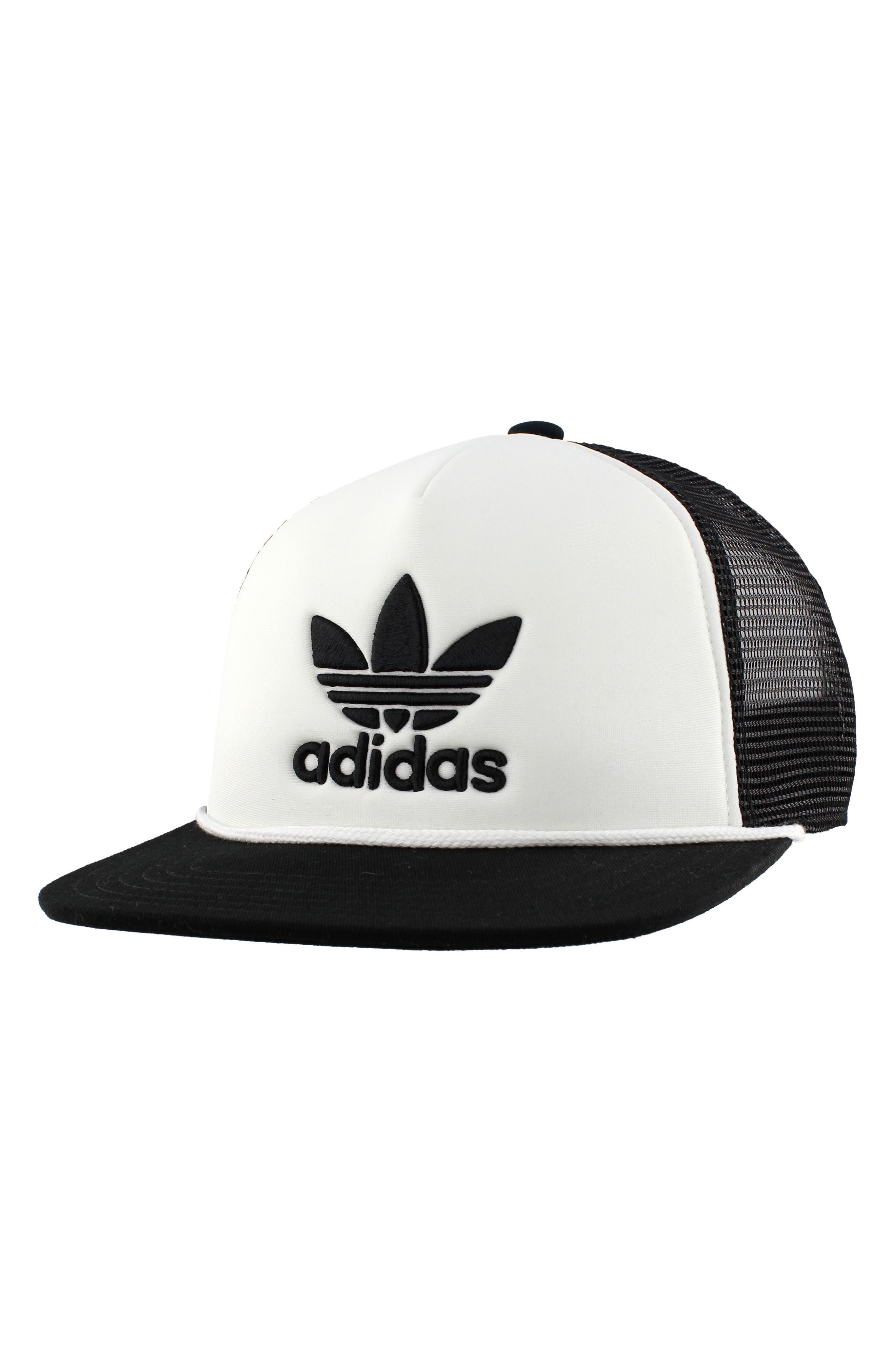 Trefoil Trucker Hat,                         Main,                         color,