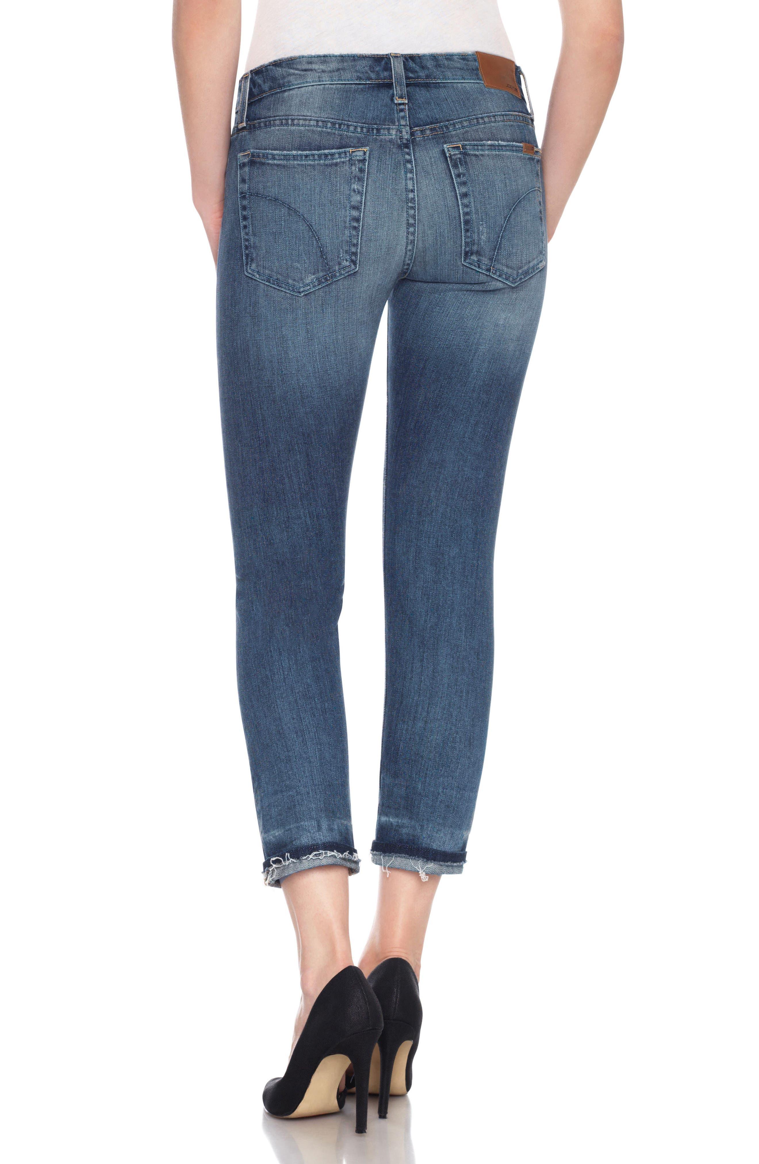 Ex-Lover Crop Boyfriend Jeans,                             Alternate thumbnail 2, color,                             460