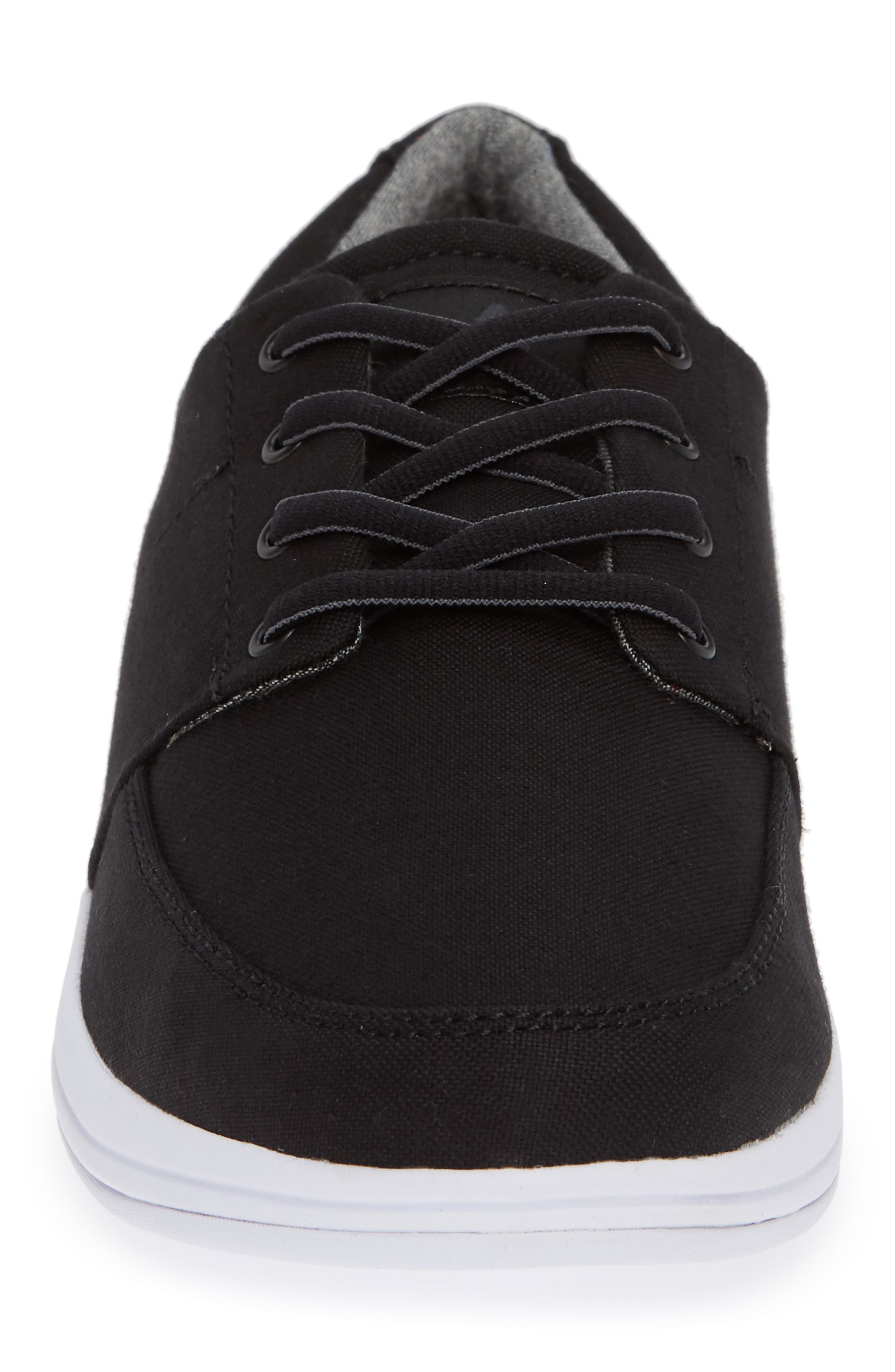 Cuater by Travis Mathew  Quincy Sneaker,                             Alternate thumbnail 4, color,                             BLACK