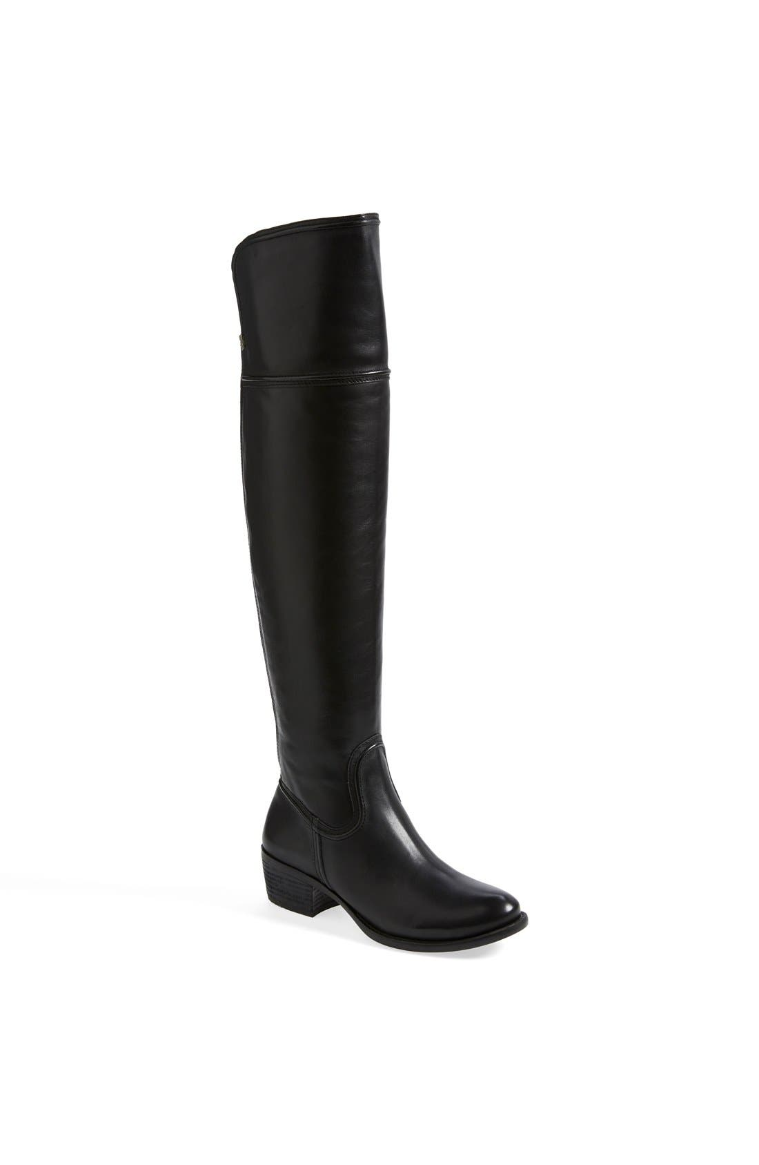 'Baldwin' Over the Knee Boot,                             Main thumbnail 1, color,                             001