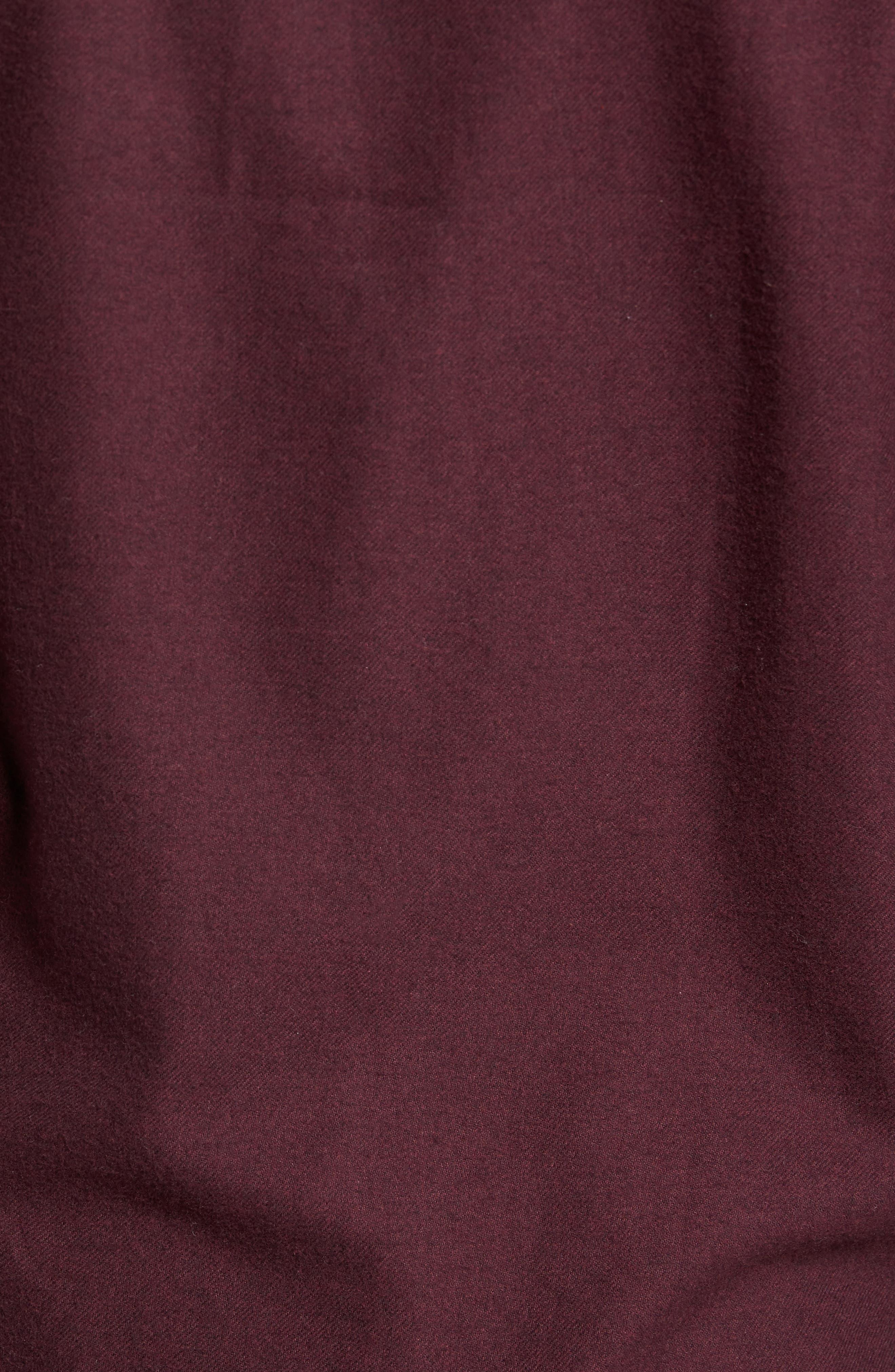 Heather Flannel Shirt,                             Alternate thumbnail 10, color,